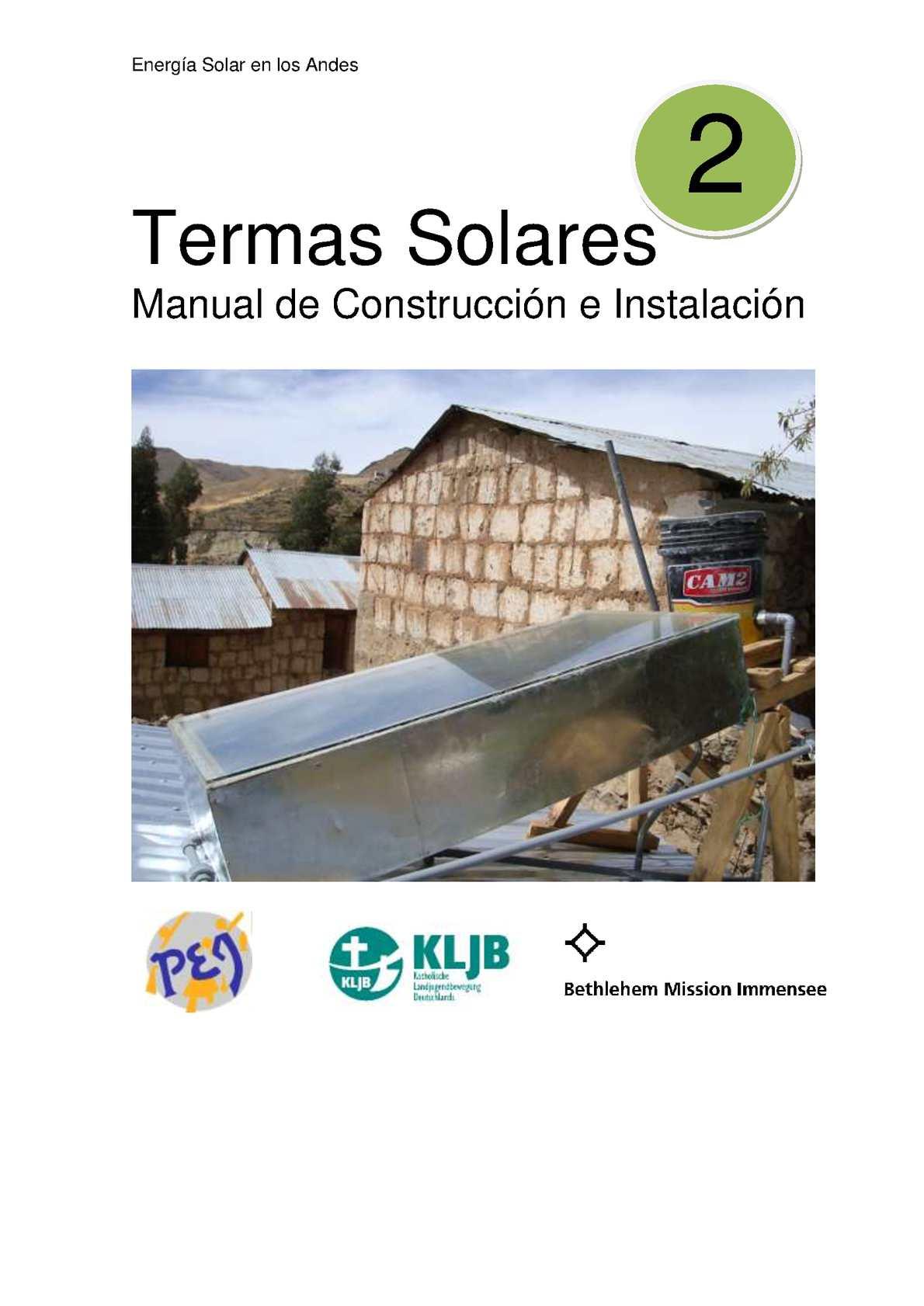 2 Manual Termas Solar
