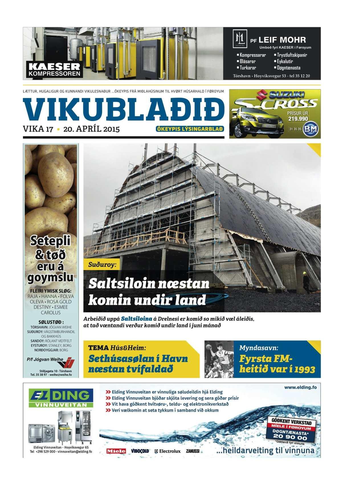 Vikublaðið 20. apr. 2015