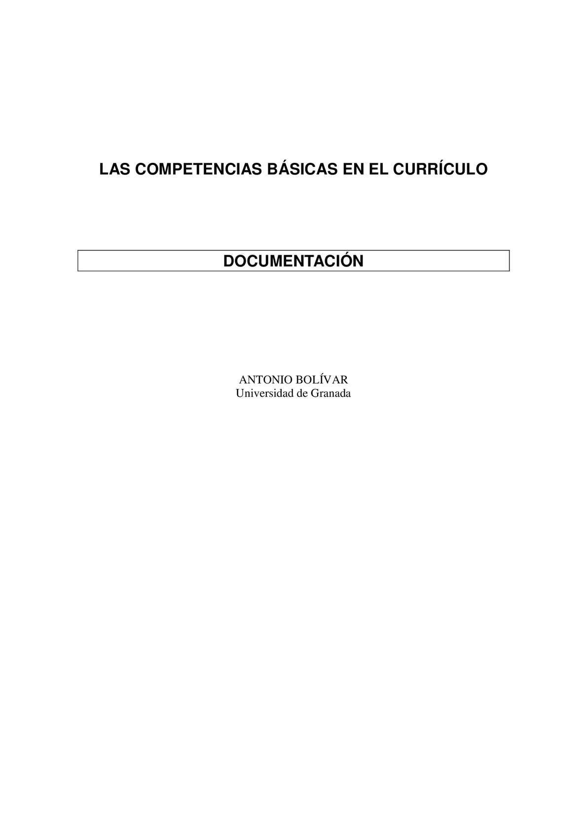Calaméo - Las Competencias Basicas En El Curriculo