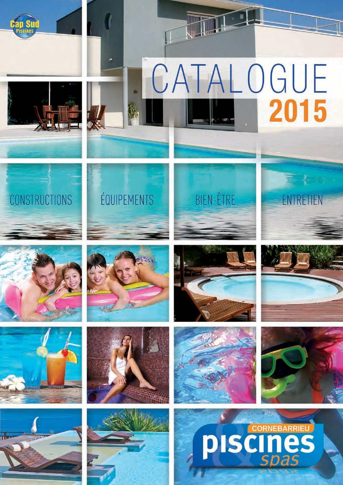 Calam o catalogue cornebarrieu pisicines 2015 for Piscine cornebarrieu