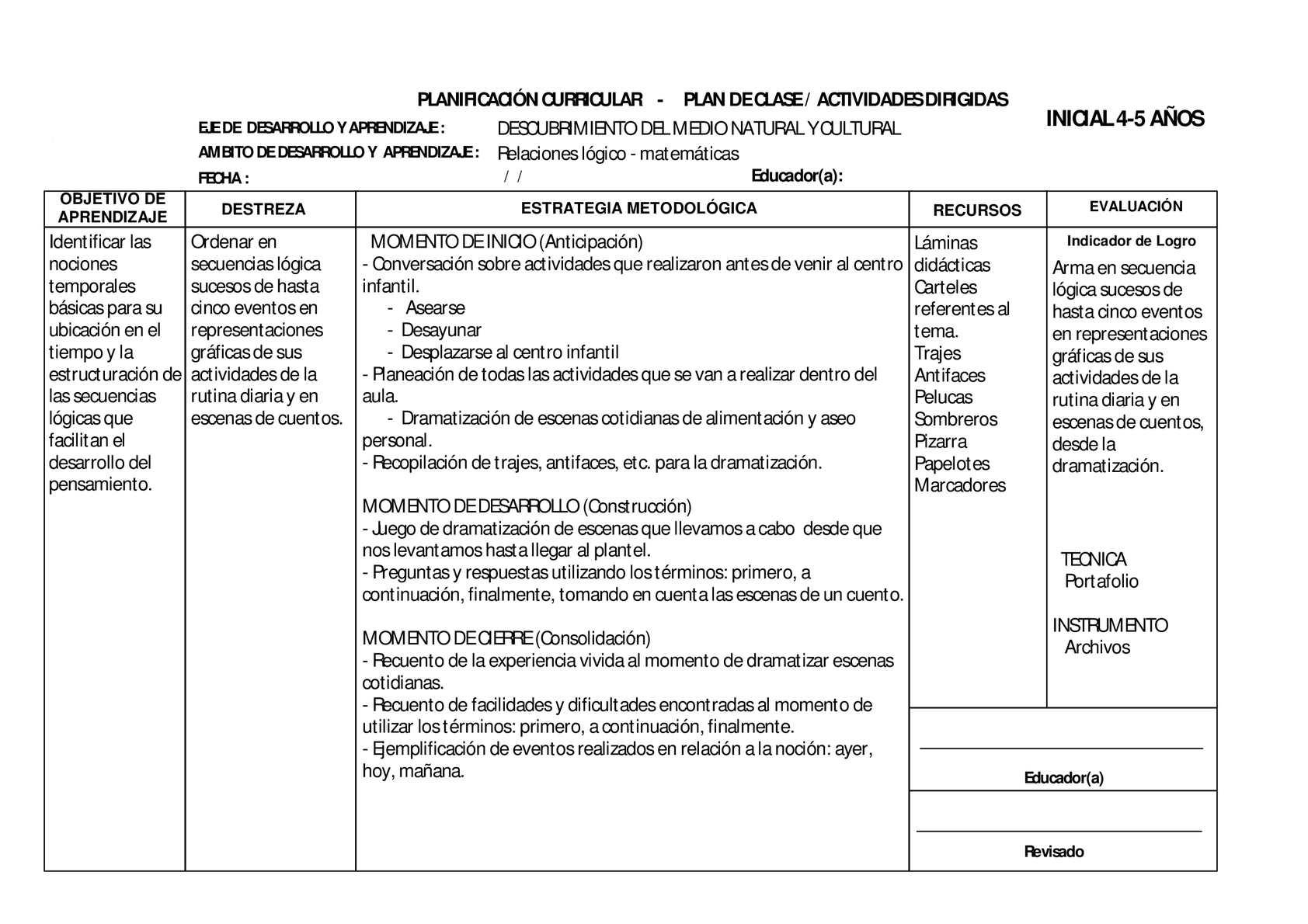 Calaméo - 4. PLANIFICACION RELACIONESLÓGICOMATEMÁTICAS