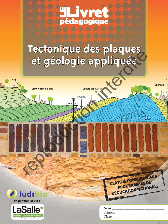 Pays de bray - Tectonique des plaques et géologie appliquée - 2015