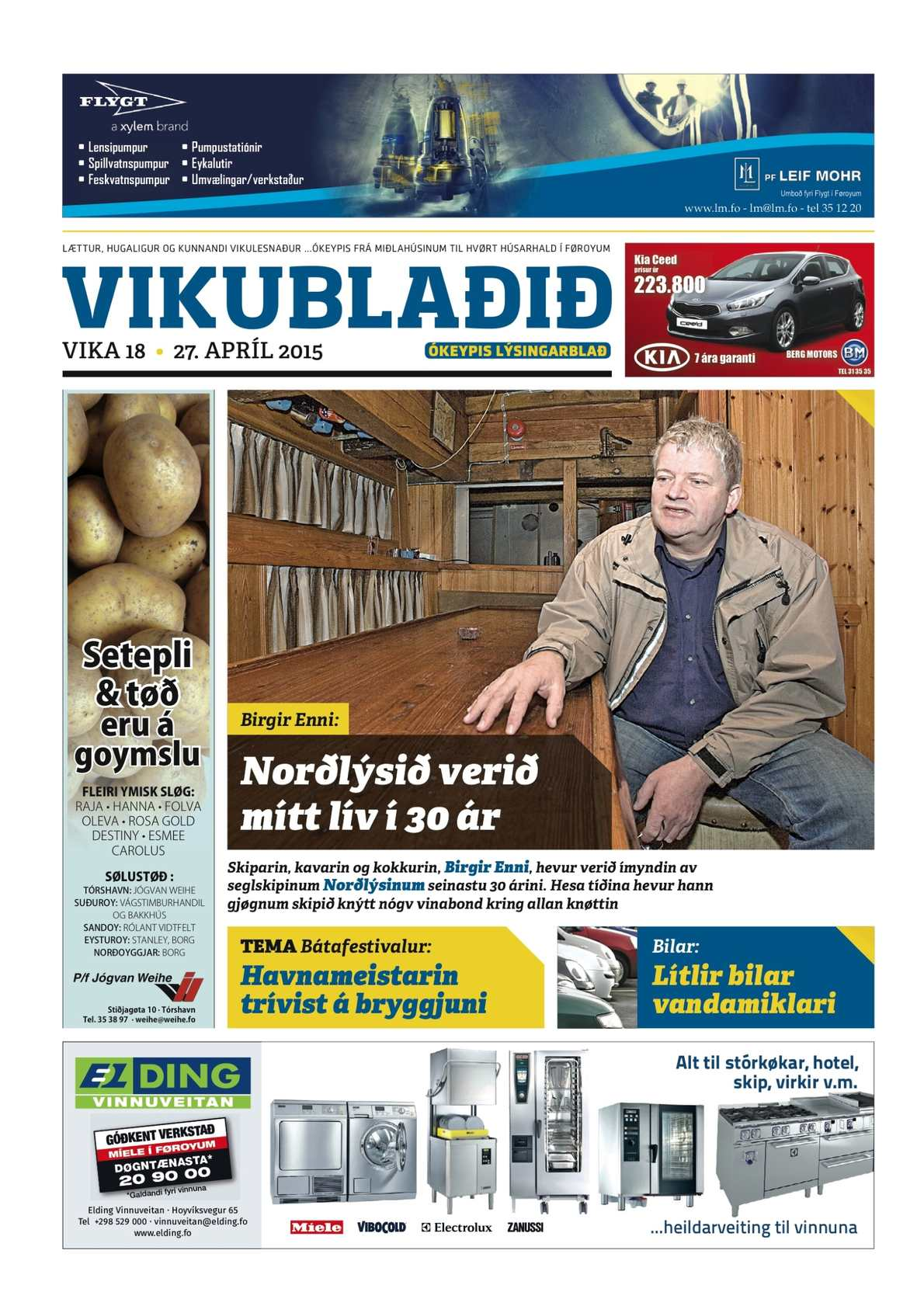 Vikublaðið 27. apr. 2015