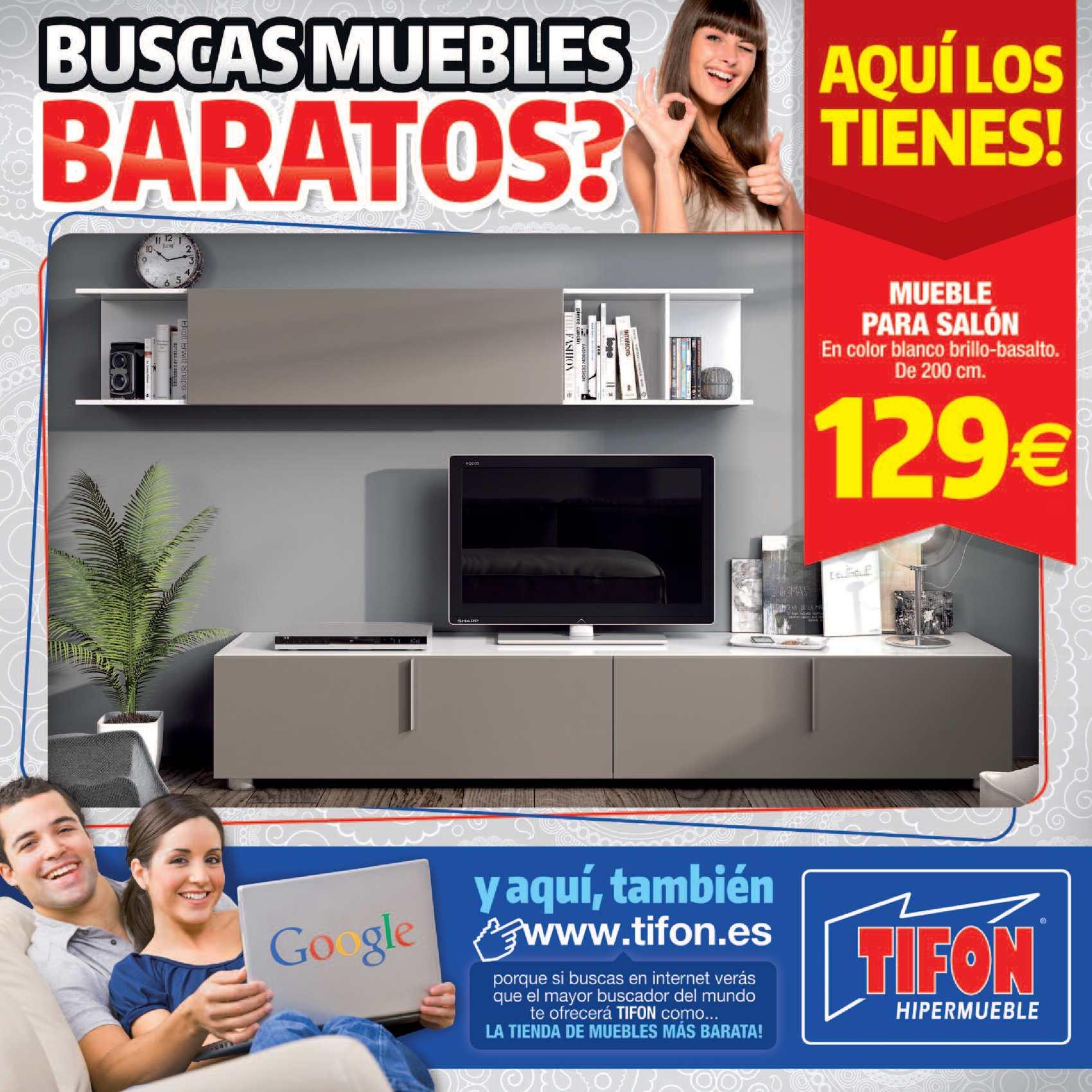 Calam o ofertas tifon hipermueble cantabria for Muebles baratos cantabria