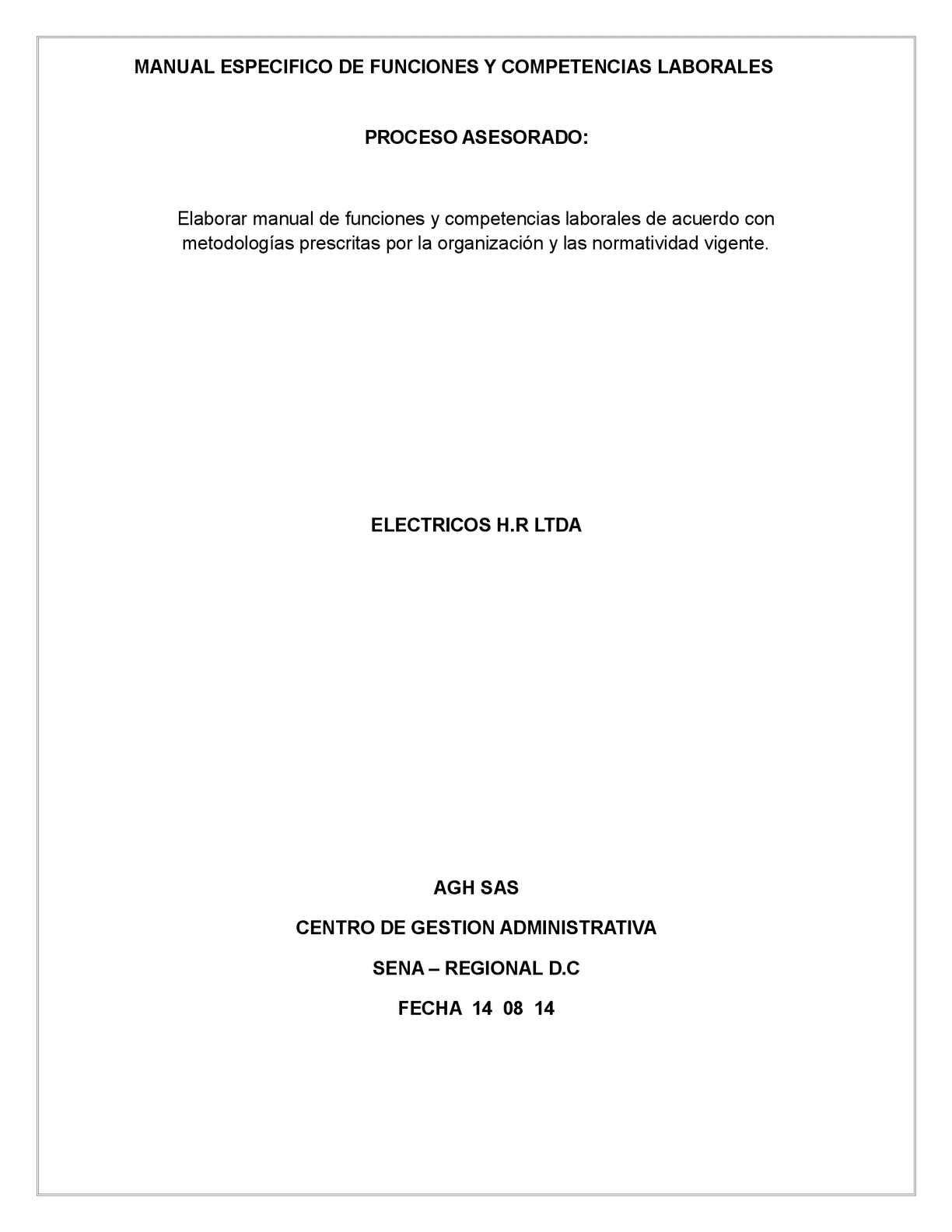 Calaméo - Entregable De Manual De Funciones