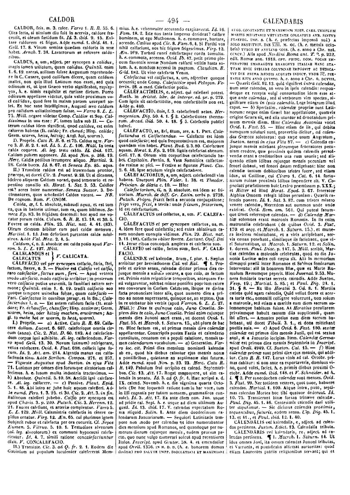 Calaméo Lexicon totius latinitatis Caldor Cytonium Forcellini Aegidio Corradini Franciscus Perin Josephus 1940