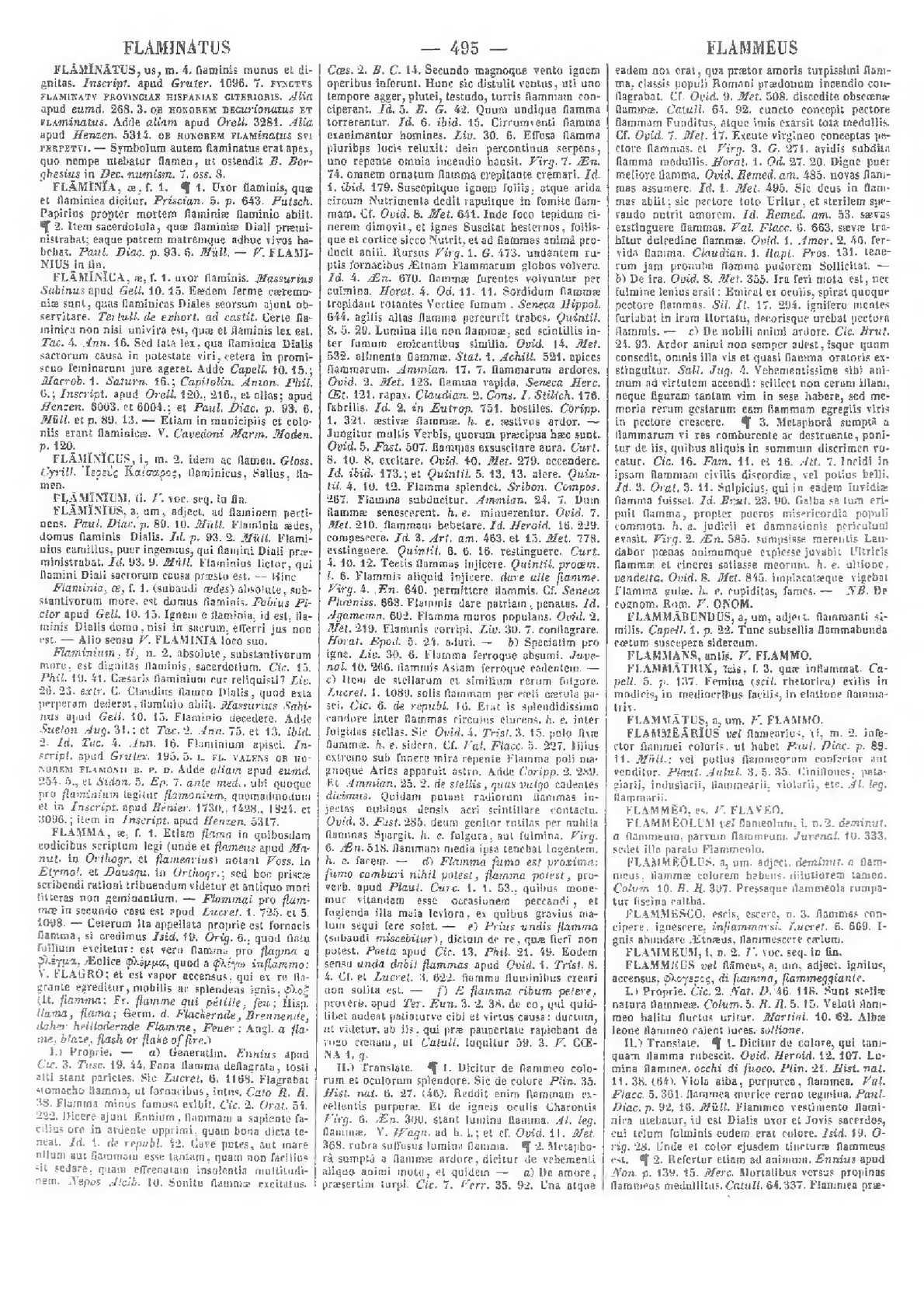 Calaméo Lexicon totius latinitatis Flaminatus K Forcellini Aegidio Corradini Franciscus Perin Josephus 1940