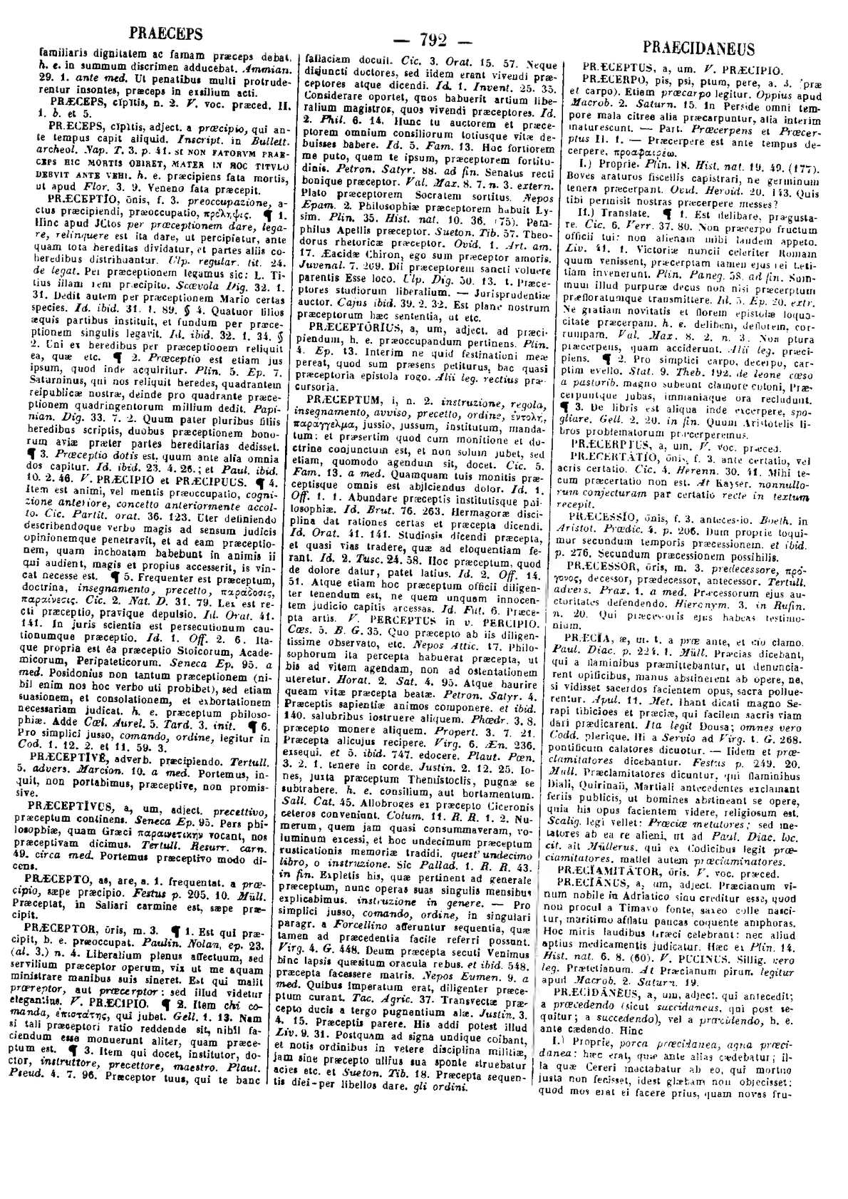 Calaméo Lexicon totius latinitatis Pr Ry Forcellini Aegidio Corradini Franciscus Perin Josephus 1940