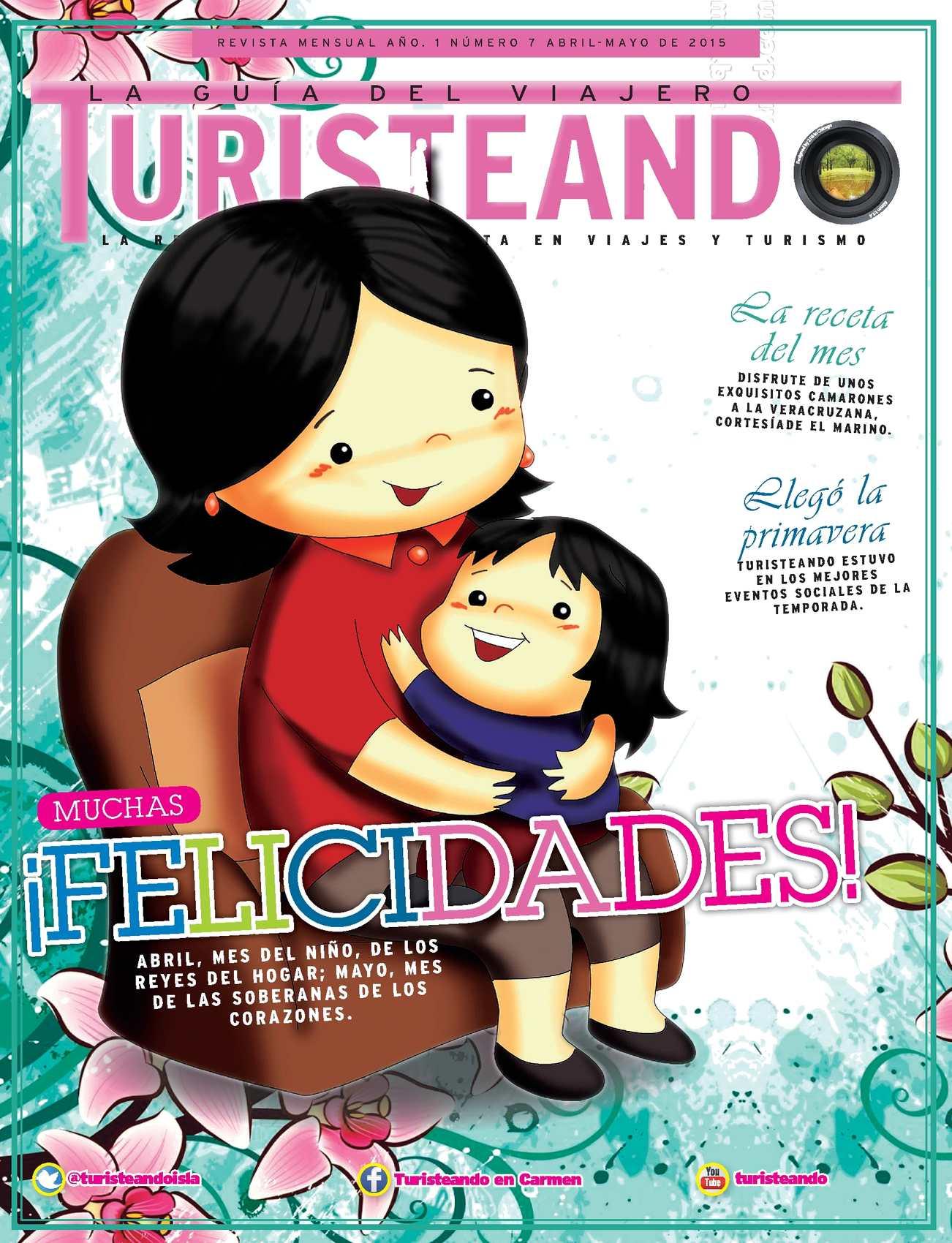 Revista Turisteando Abril-Mayo