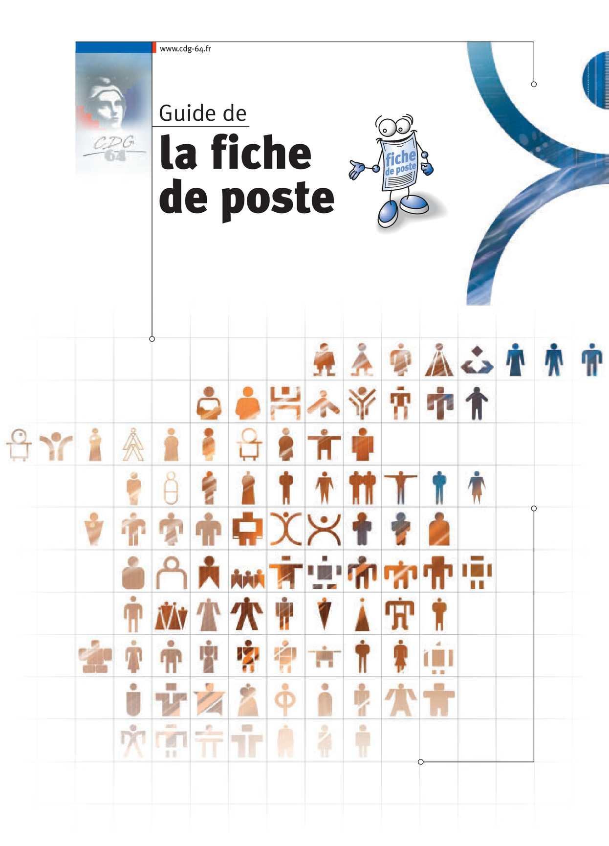 Calaméo - Guide Fiche De Poste Cdg 64