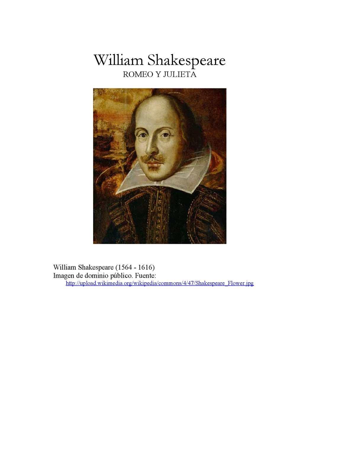 Calaméo - Romeo Y Julieta; William Shakespeare
