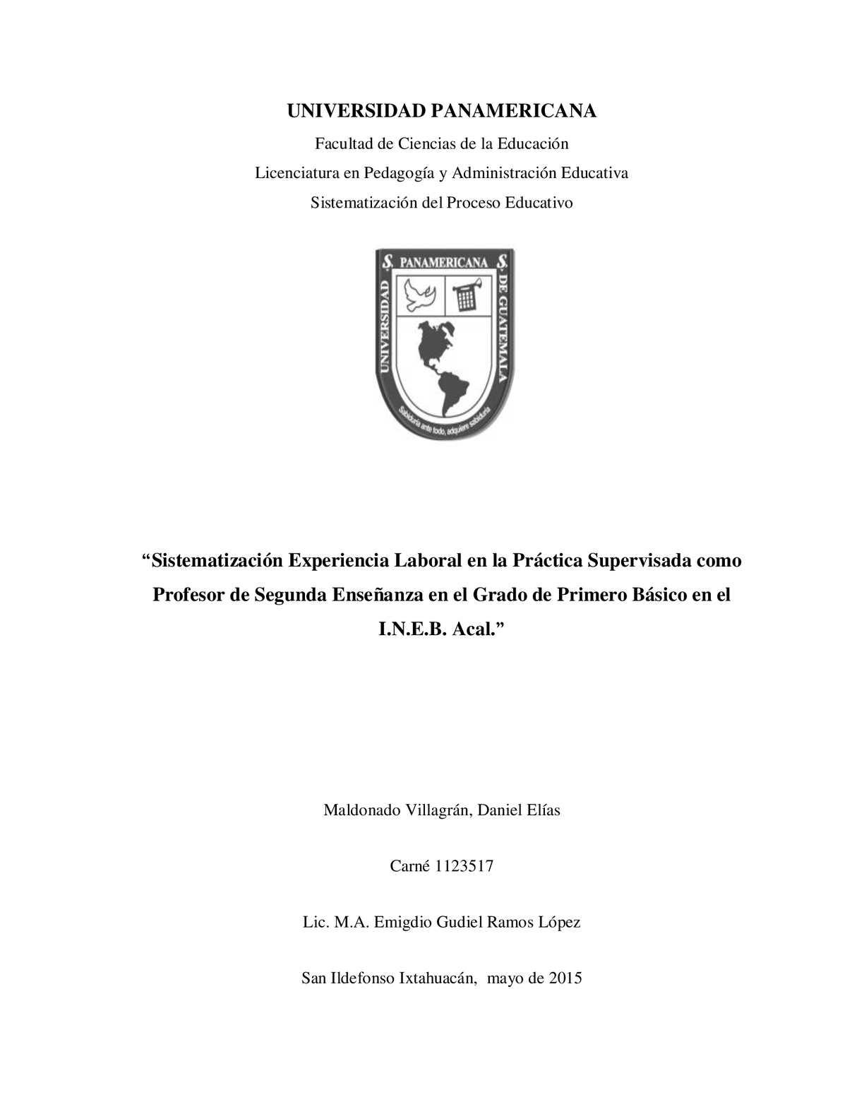 """Calaméo - """"Sistematización Experiencia Laboral En La Práctica ..."""