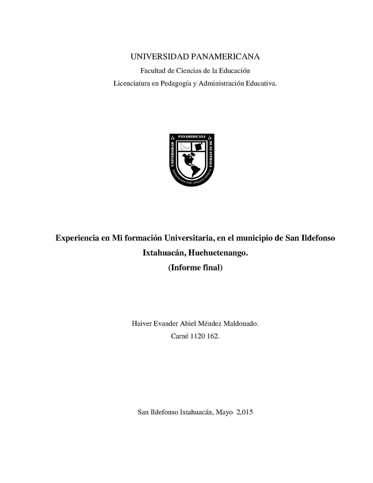 Calaméo - Sistematización De Experiencia De Mi Formación ...