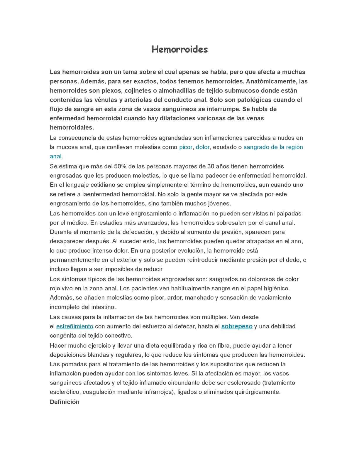 Calaméo - Hemorroides