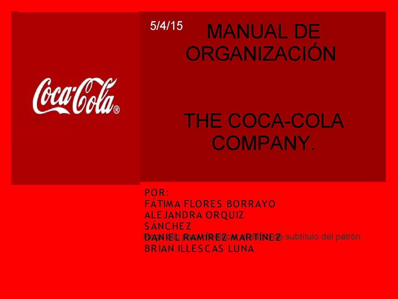 Manual De Organizacion Original (1)