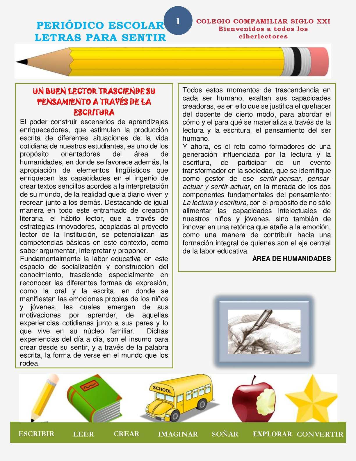Calaméo - Periodico Virtual Letras Para Sentir