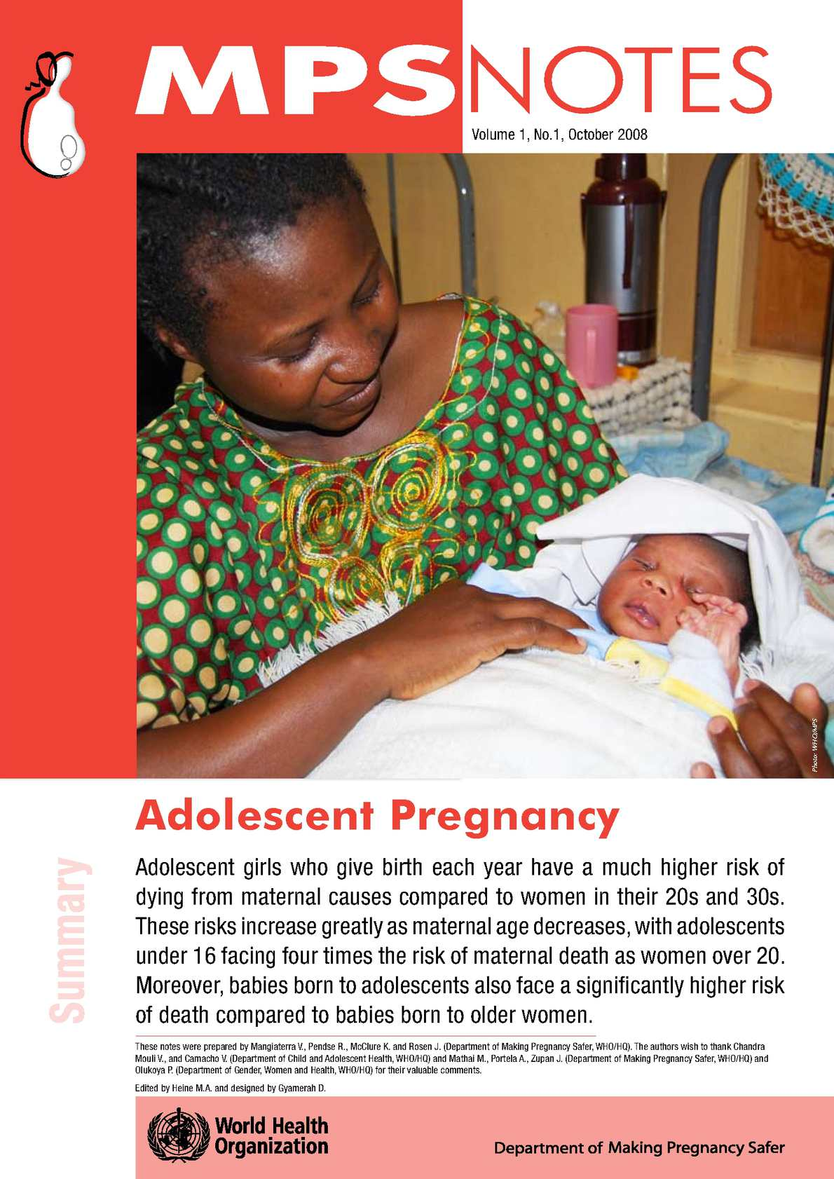 adolescent pregnancy is viewed as a high risk situation due to the serious health risks that this cr As clearly documented in the recent us surgeon generals report on youth violence (us department of health and human services, 2001), the factors that place adolescents at highest risk for serious delinquency have to do with their peers.