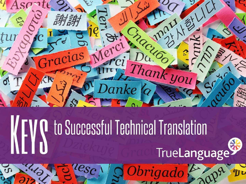 Keys To Successful Technical Translation