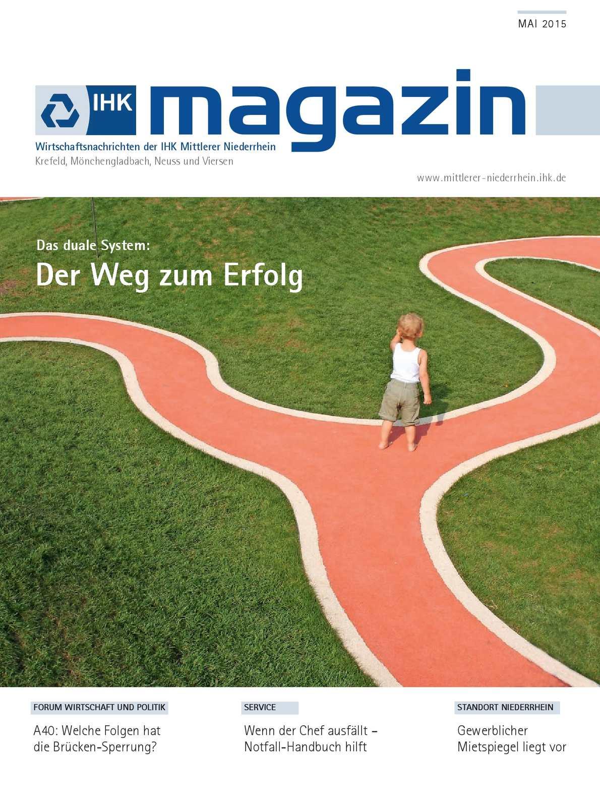 Calaméo - IHK Magazin Mai 2015