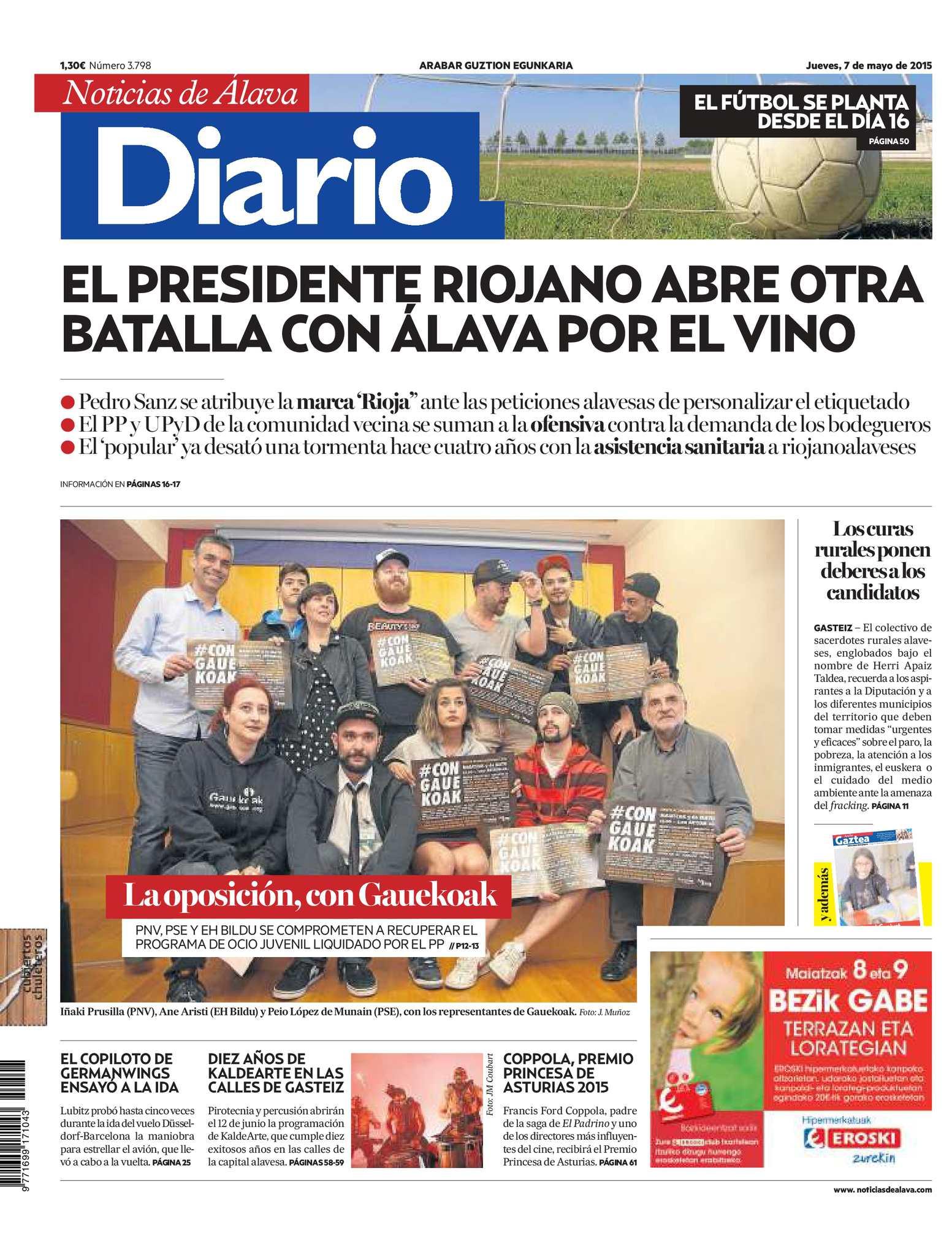 Calaméo - Diario de Noticias de Álava 20150507