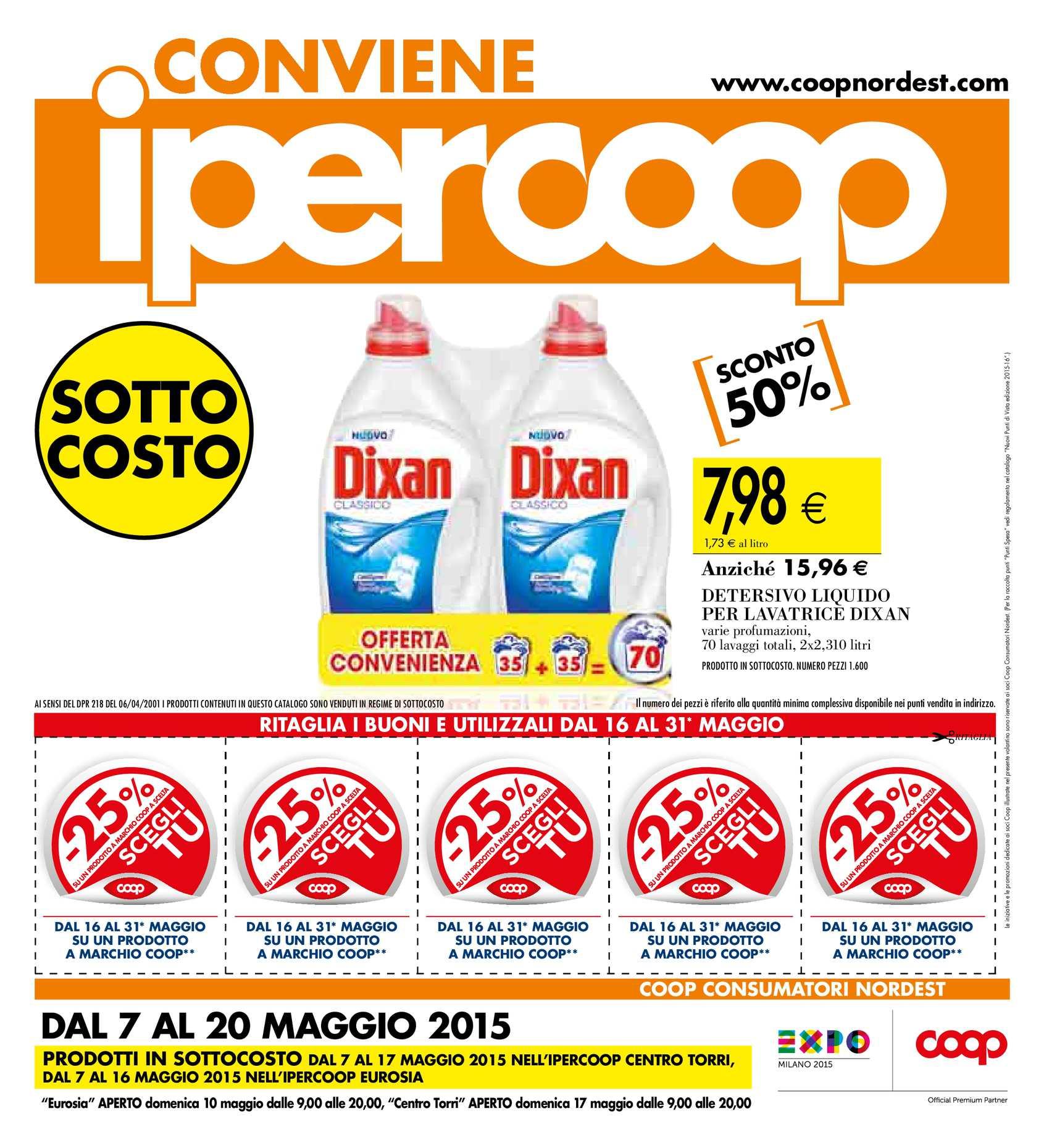 Emejing Ipercoop Le Terrazze Volantino Pictures - Amazing Design ...