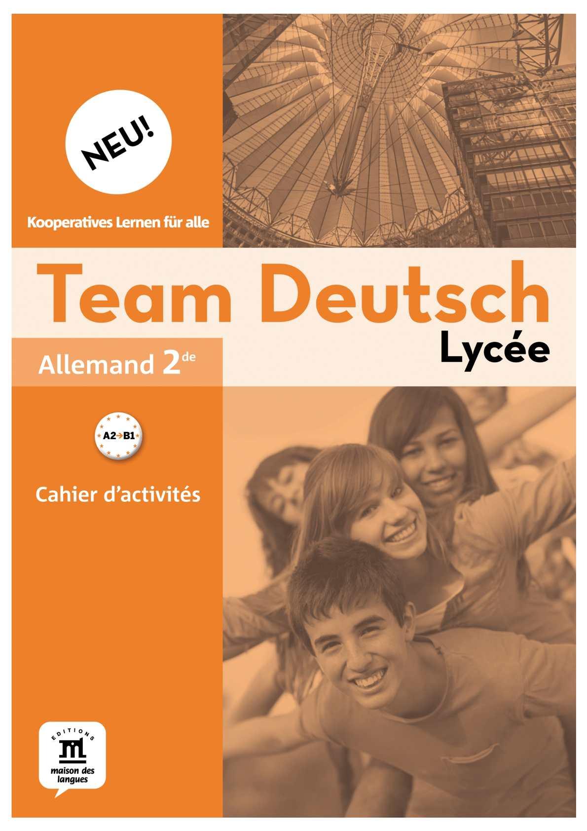 Calaméo - Team Deutsch Neu Lycée- Cahier d\'activités