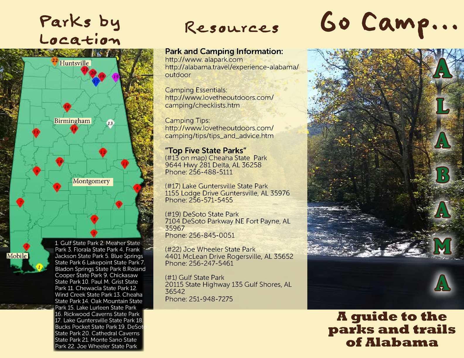 Calaméo - Go Camp Alabama brochure