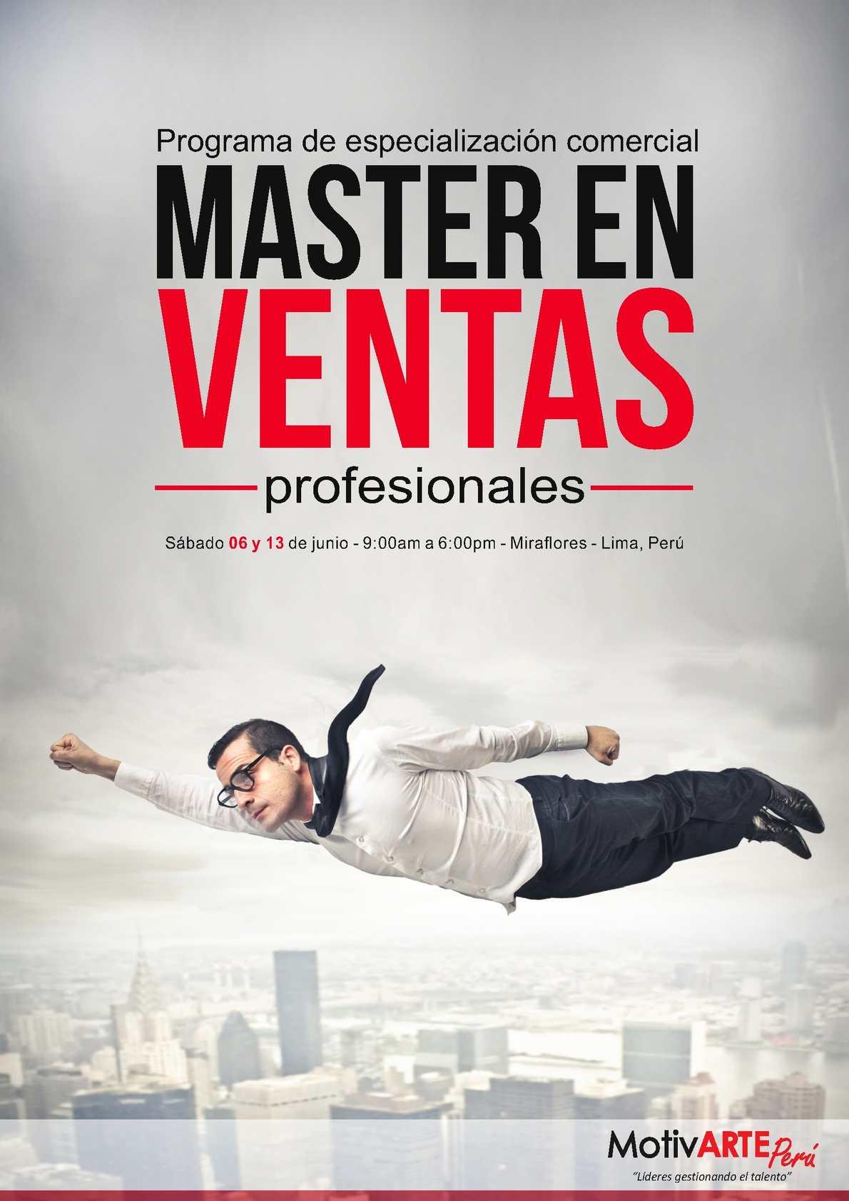 Ficha Tecnica Master En Ventas