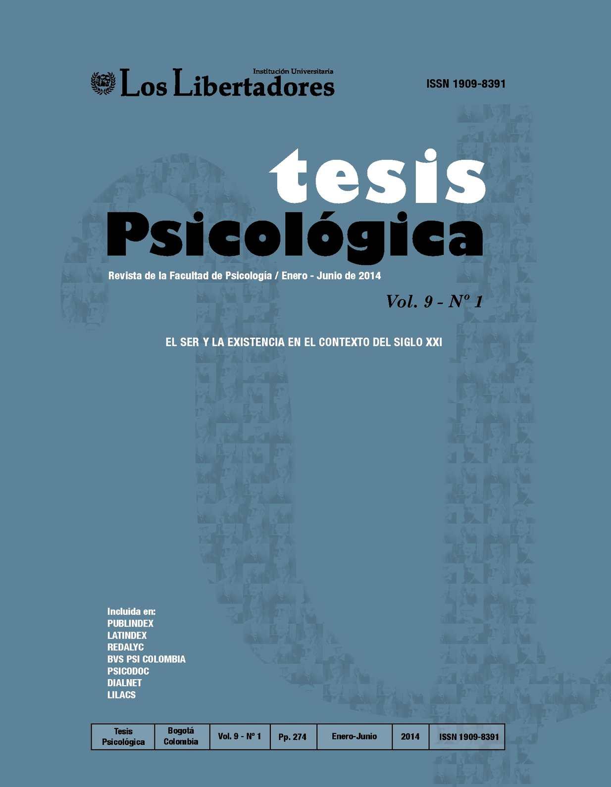 Calaméo Revista Tesis Psicológica Vol 9 No 1