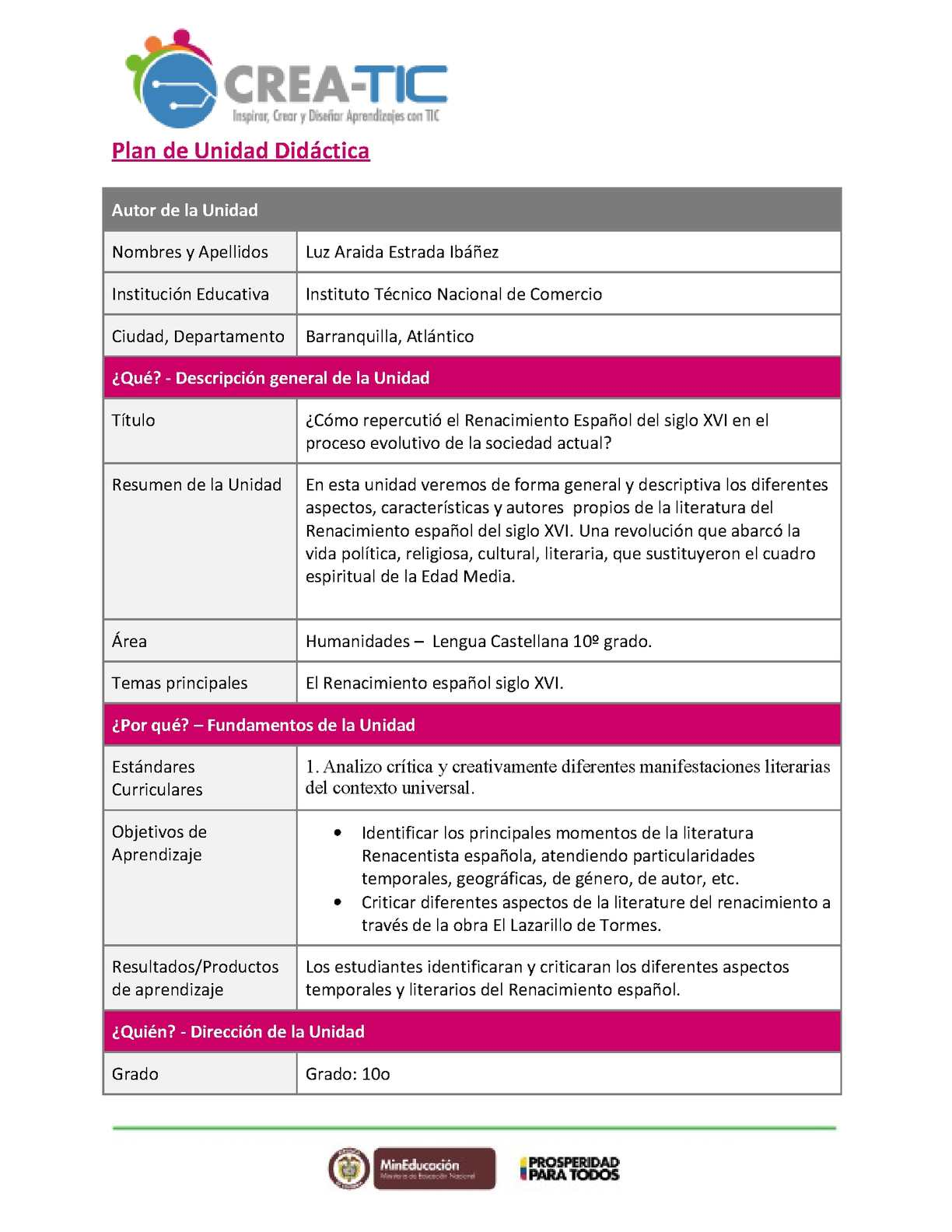 Calaméo - Plantilla Unidad Didactica (1)