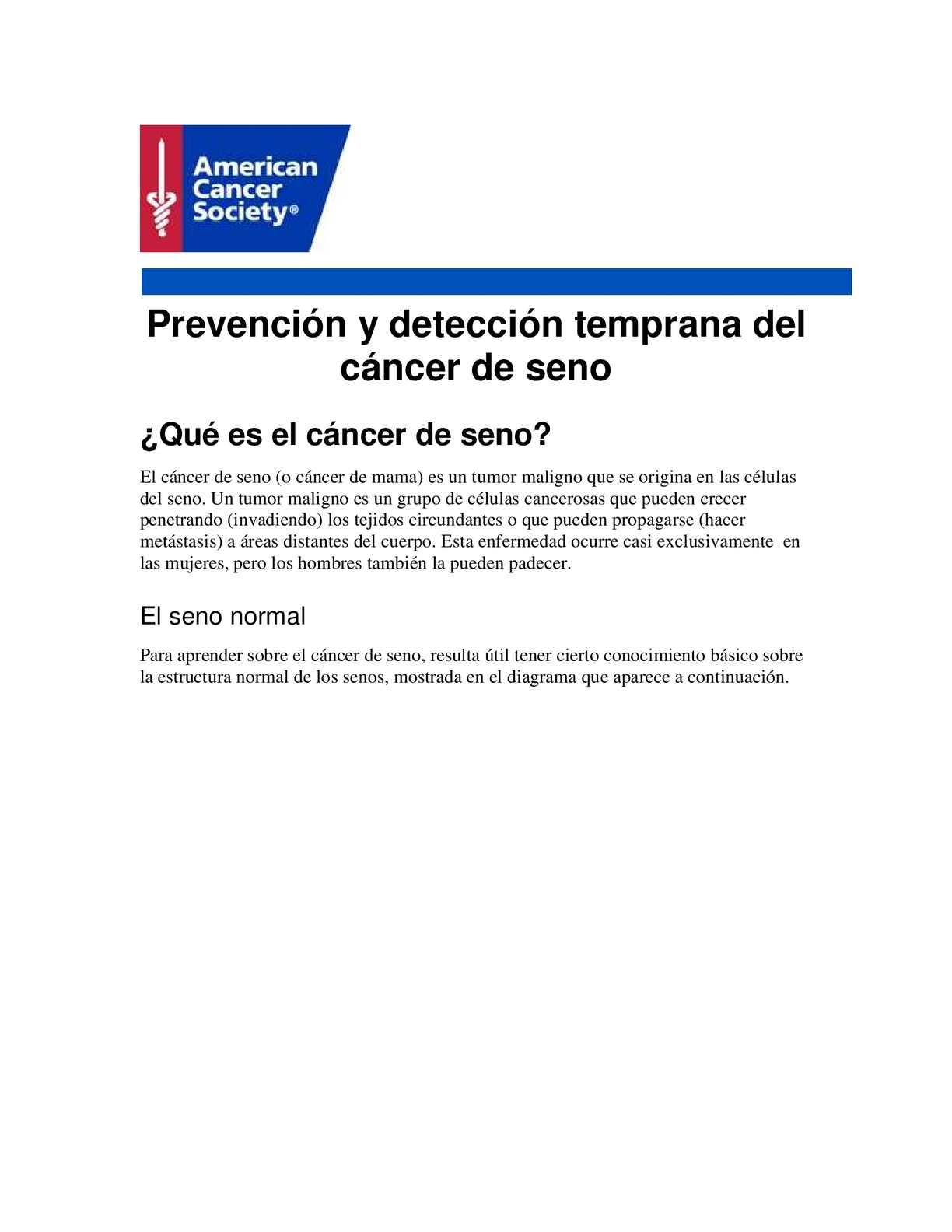 Calaméo - Cancer De Seno