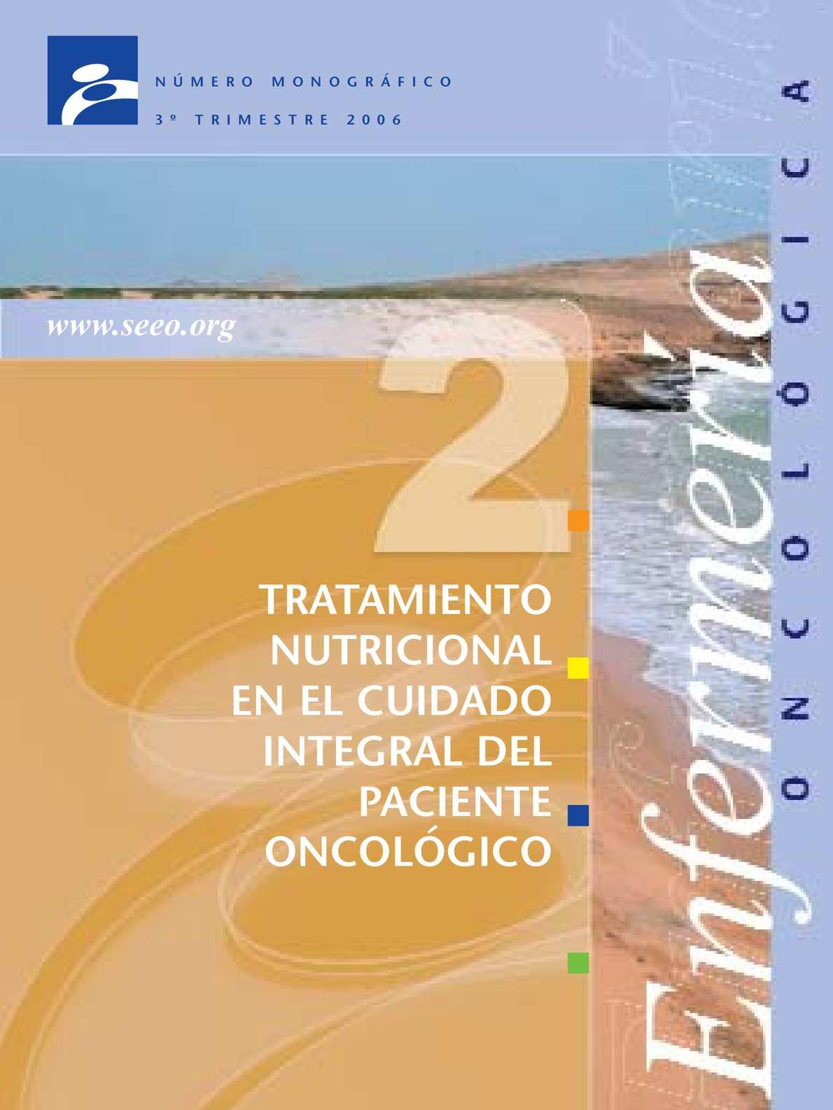 Calaméo - Tratamiento Nutricional En El Paciente Oncológico