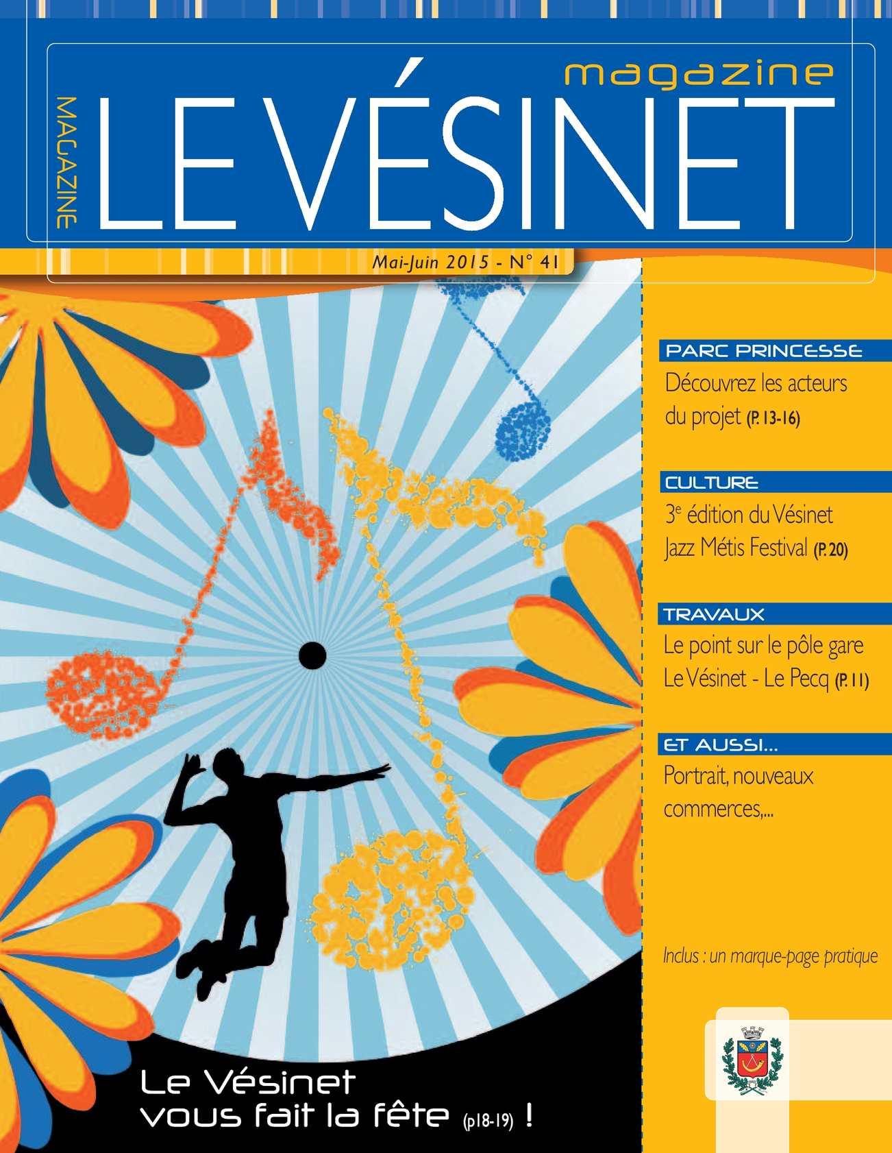 Calam o le vesinet magazine n 41 mai juin 2015 for Le divan 9 juin 2015