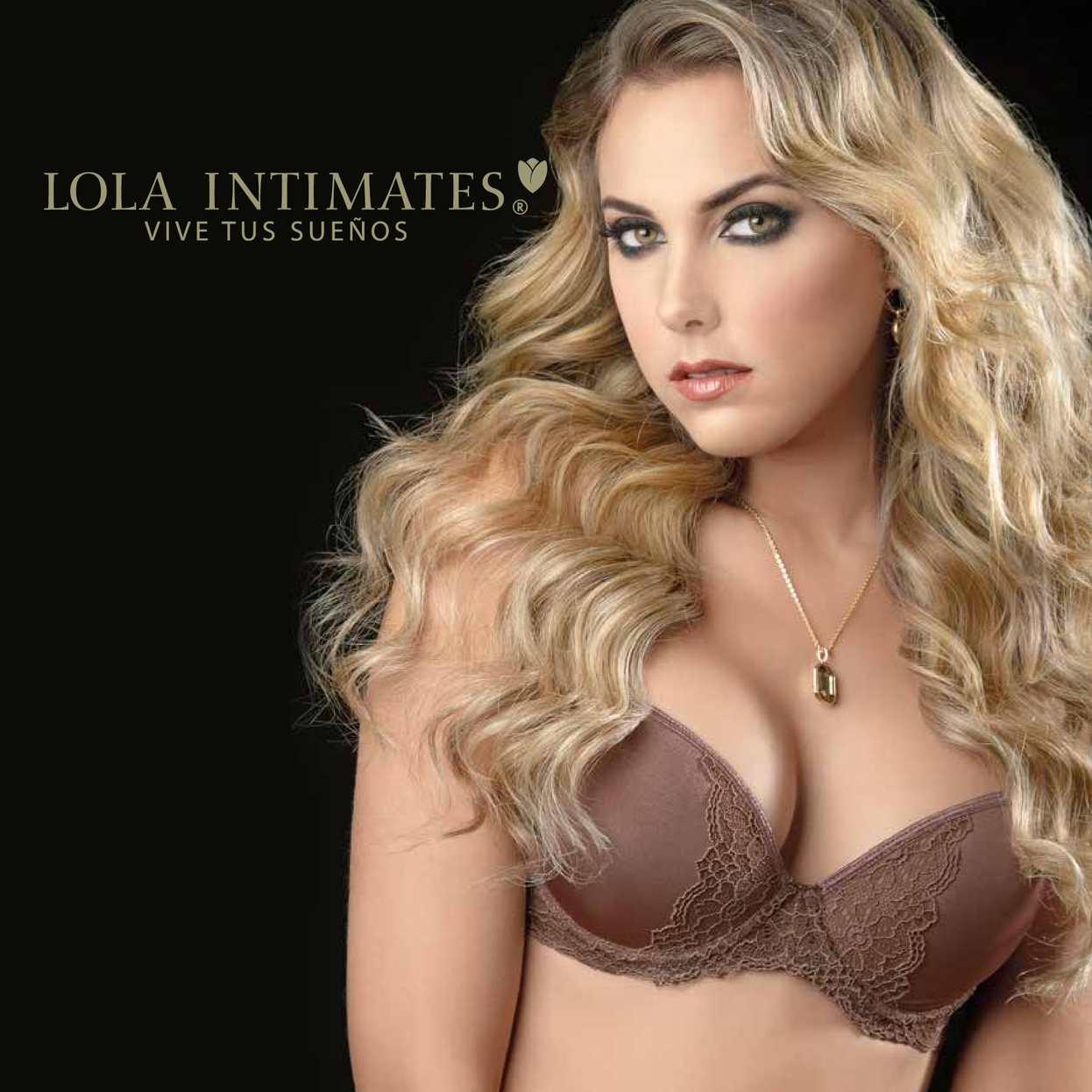 Catalogo Lola Intimates 2015