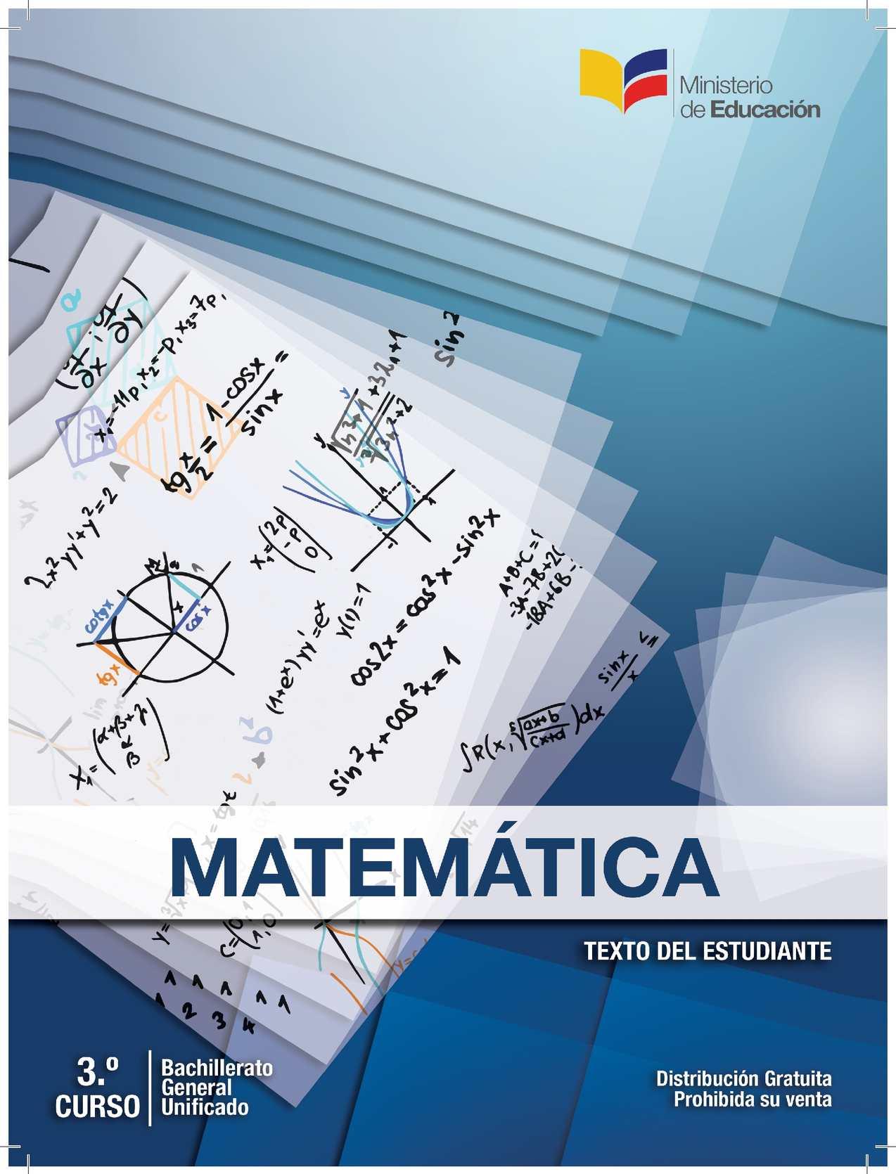 Calaméo - Matemática 3° Bgu