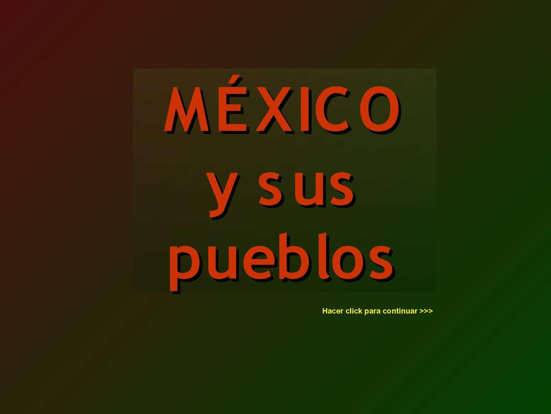 Pueblos De Mexico (Maguadam) Turismo