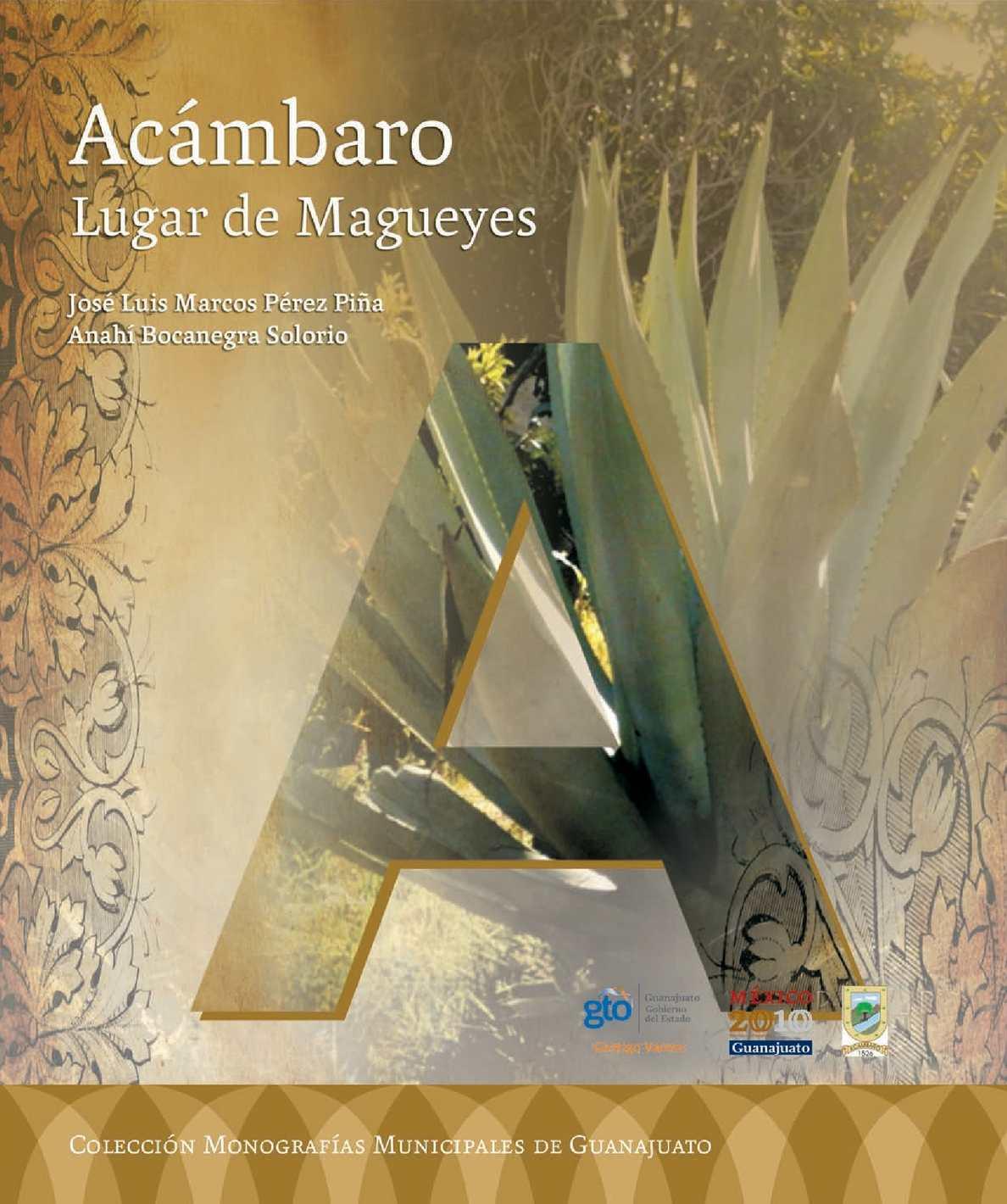 Calaméo - Monografia (Acambaro) 2010