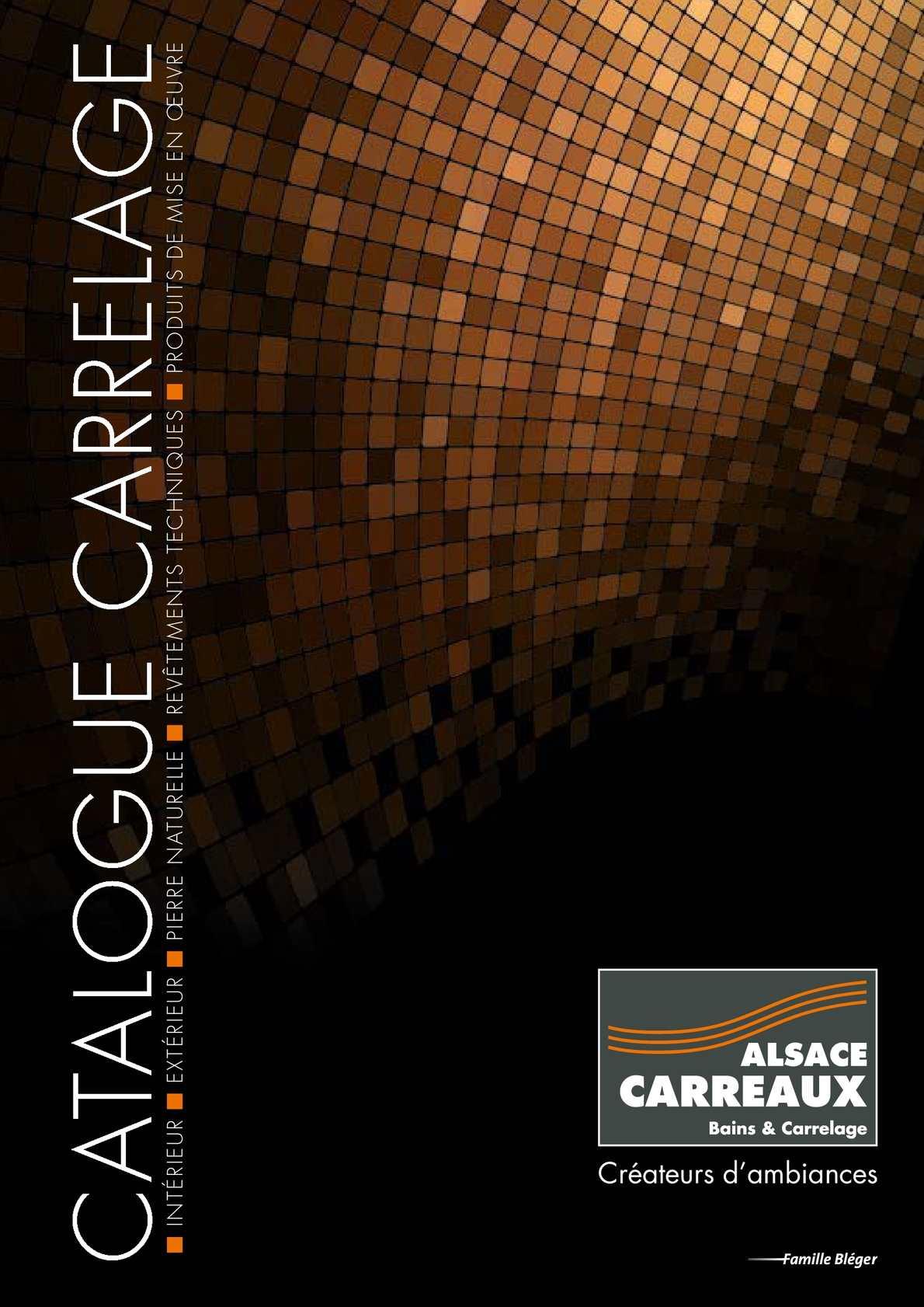 Calam o catalogue carrelage for Catalogue carrelage