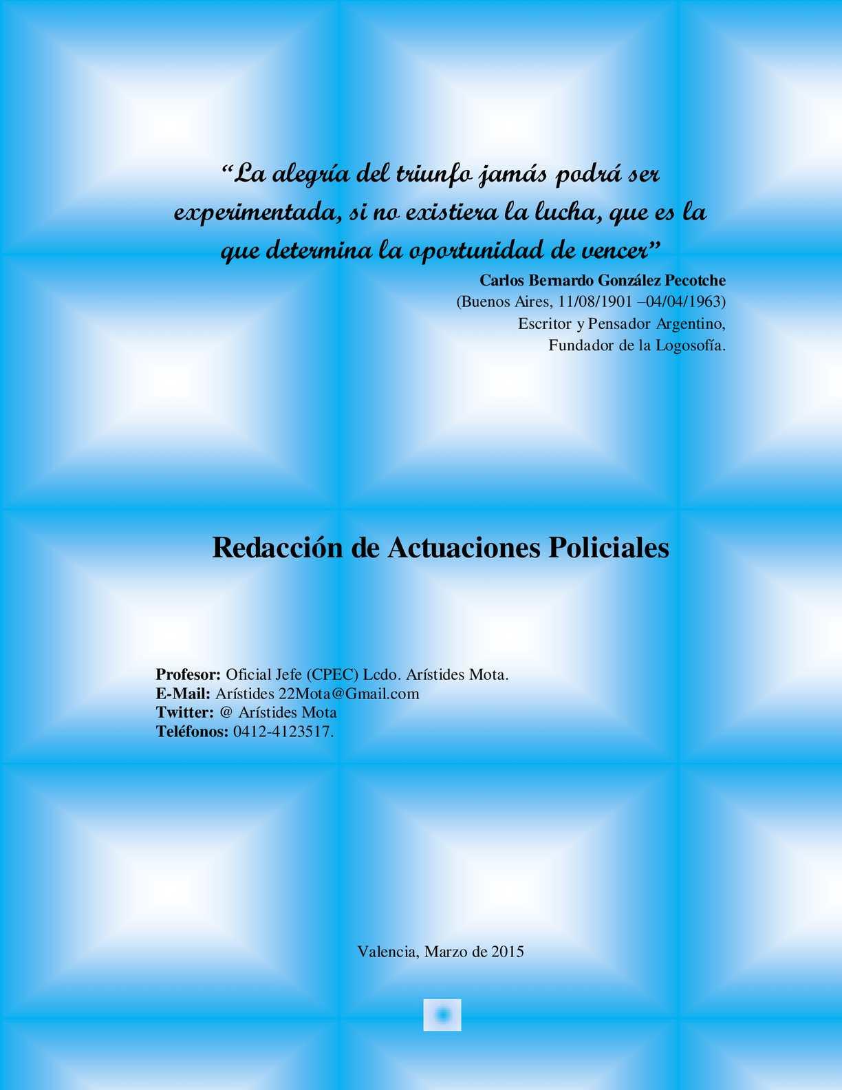 Revista Virtual Actas Policiales