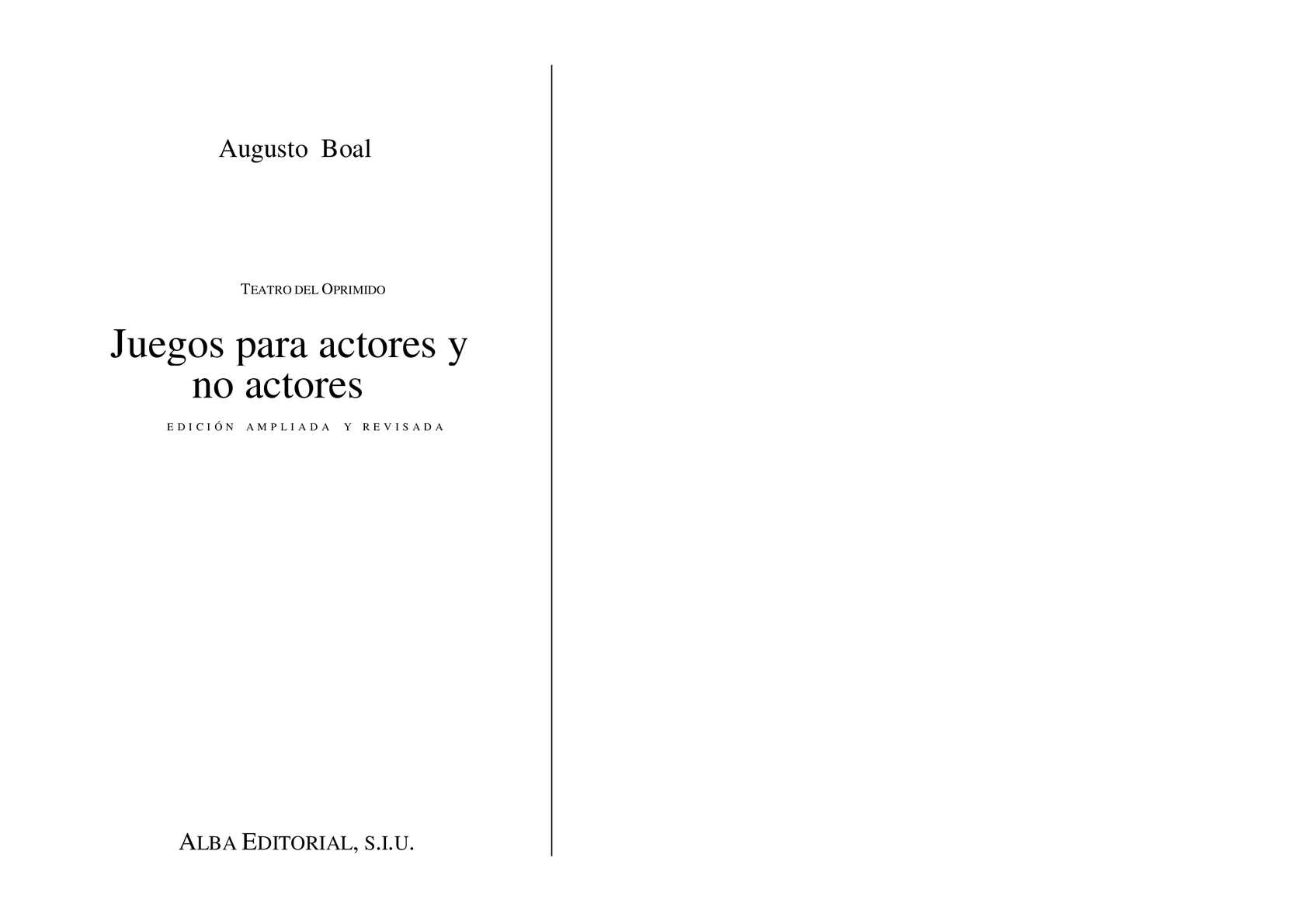 Calaméo - Boal Augusto Juegos Para Actores Y No Actores