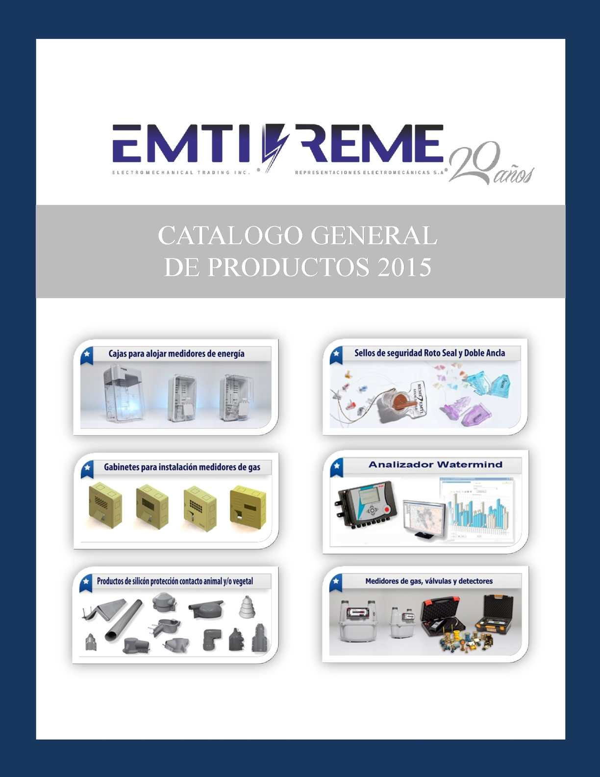 Catalogo General EMTI REME S.A.