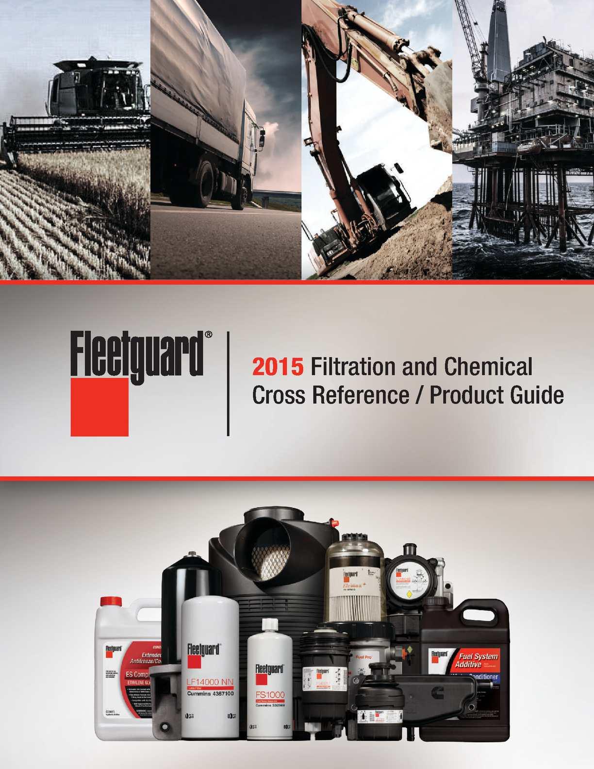2015 Filtration Catalog