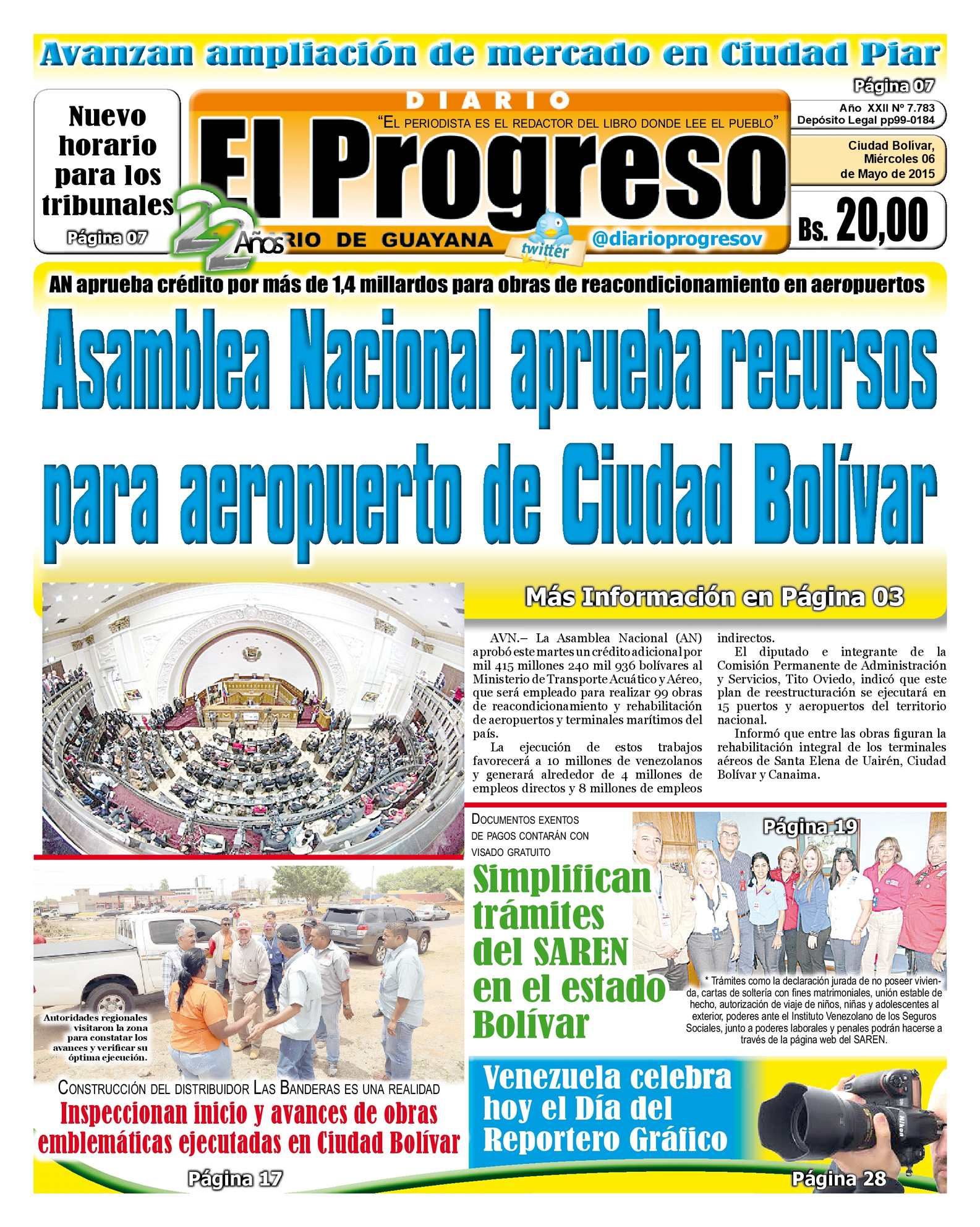 Calaméo - DiarioelprogresoEDICIÓNDIGITAL 06-05-2015
