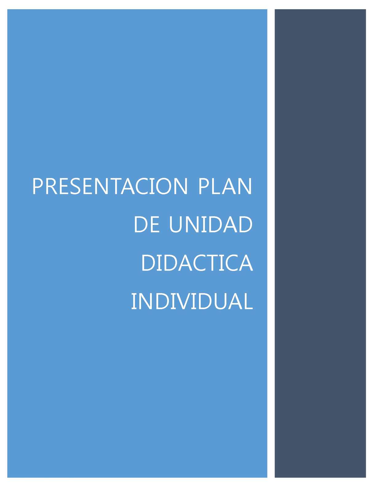 Plantilla Unidad Didactica Final