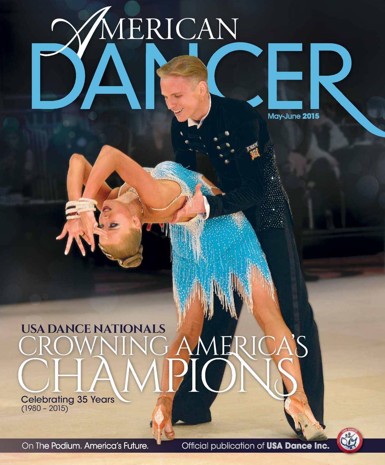 Calamo American Dancer Magazine May June 2015 Issue Sound Source Locator Uses Prechamp