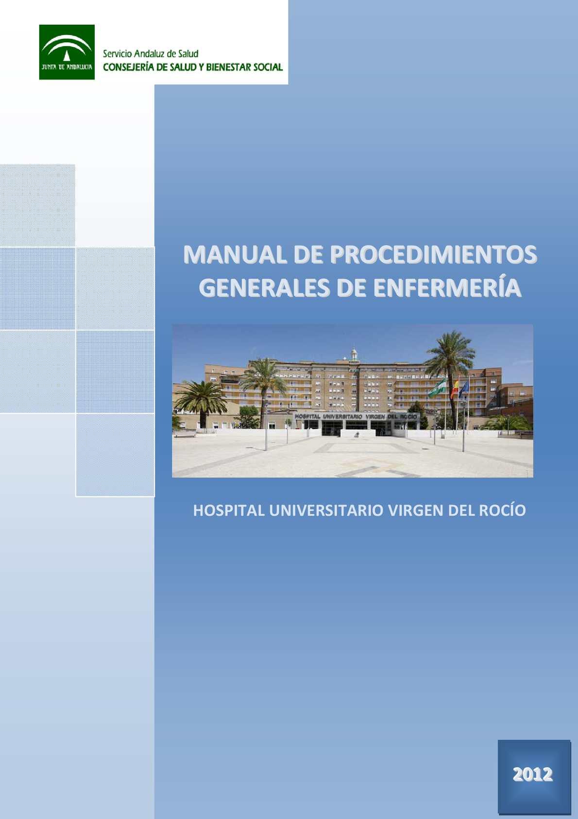 Calaméo - Procedimientos Generales Enfermeria Huvr