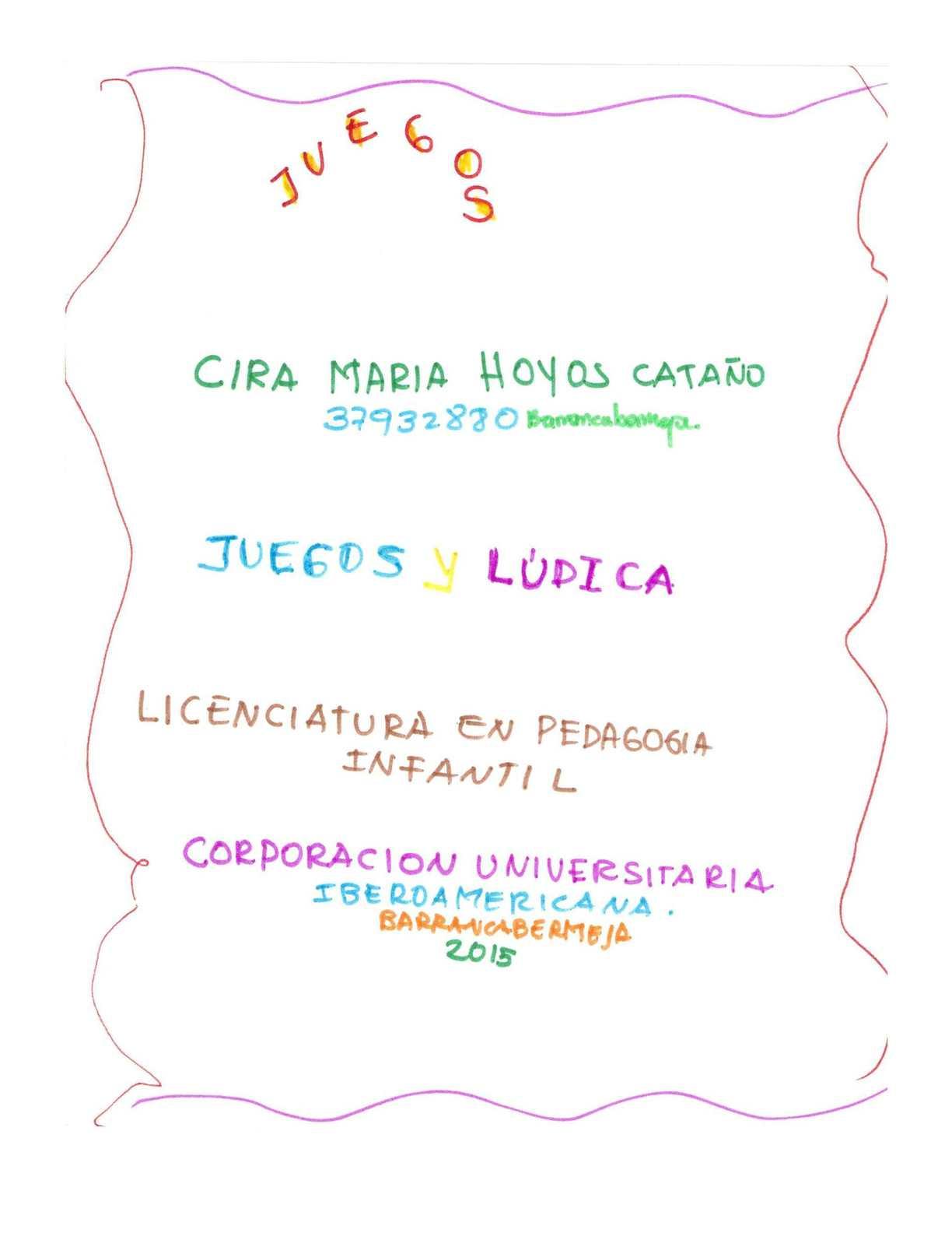 Album Juegos