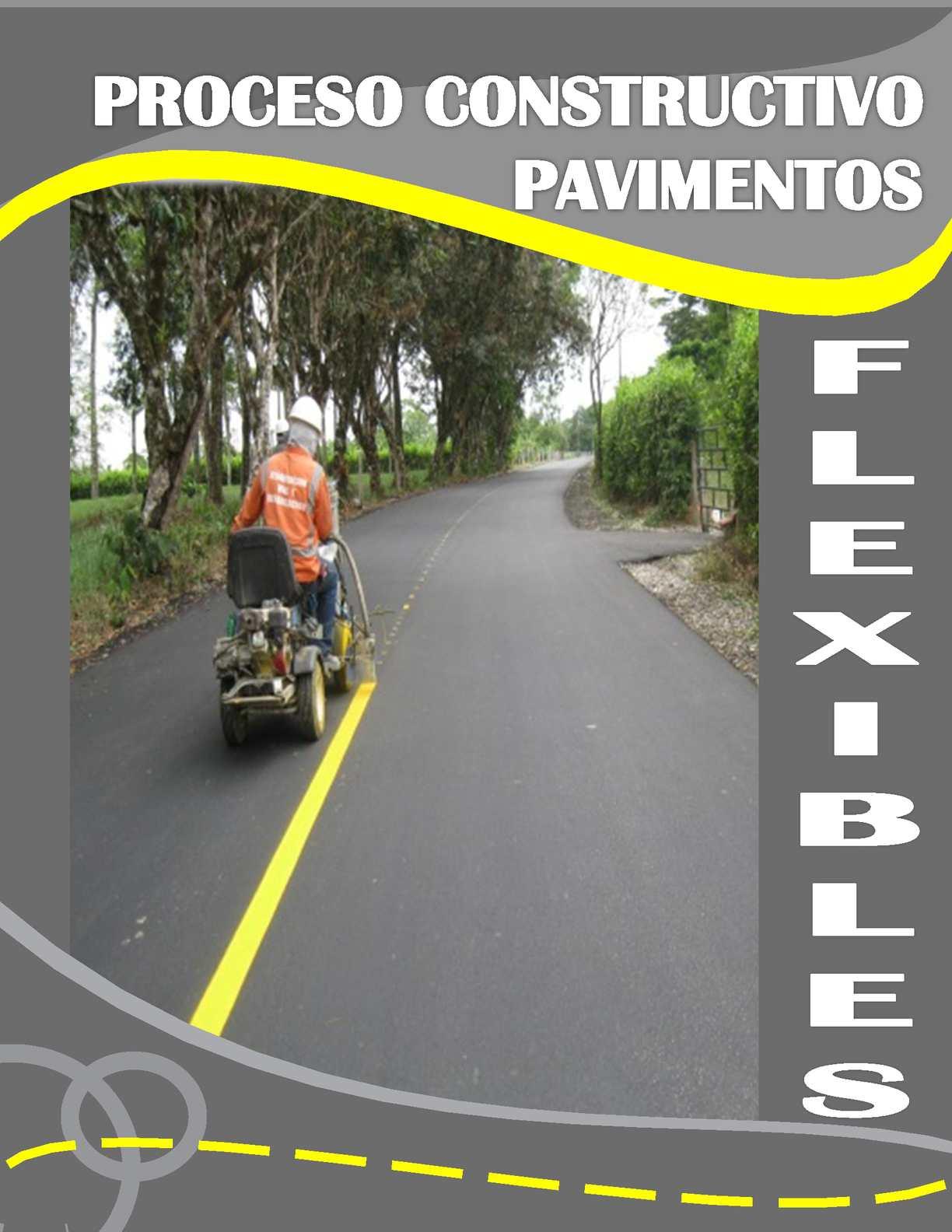 proceso constructivo pavimentos flexibles