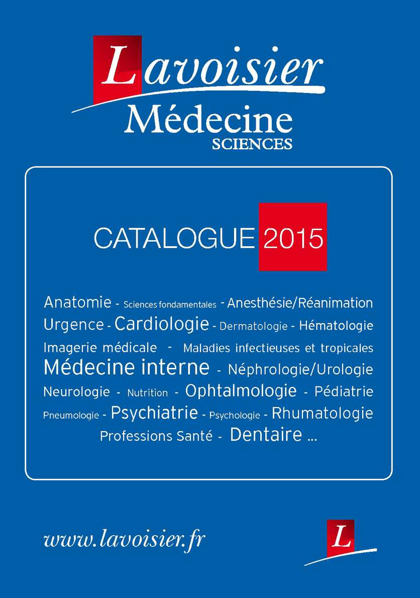 Catalogue Medecine 2015 Lavoisier