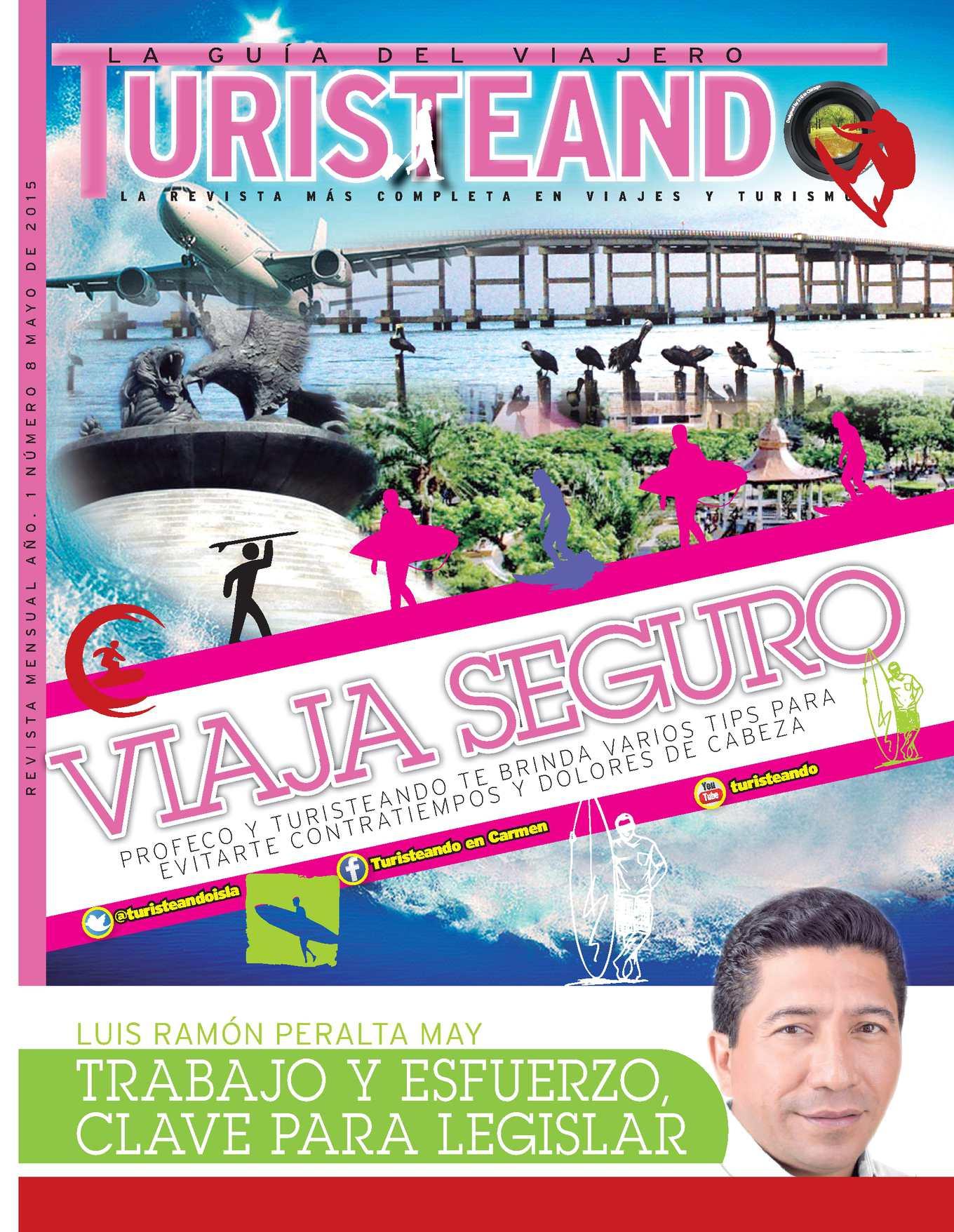 La edición numero 8 de la revista de lujo, Turisteando en Carmen